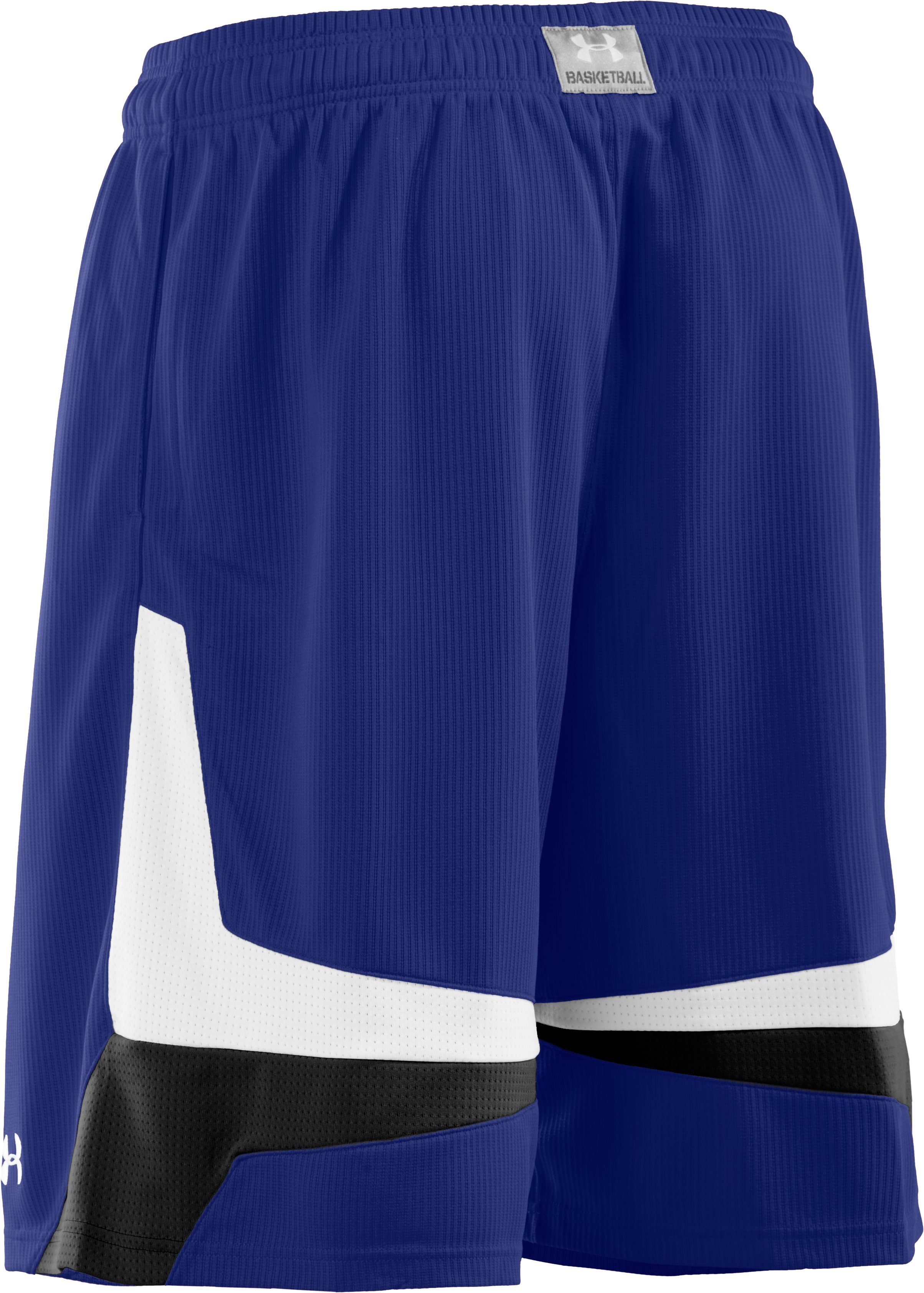 "Men's UA Mustang 10"" Basketball Shorts, Royal"