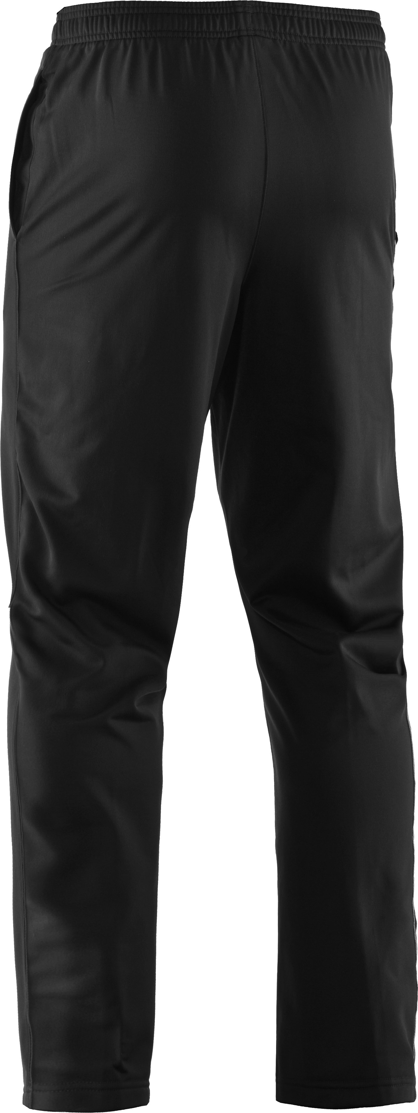 Men's Armour® Fleece 3D Logo Pants, Black , undefined