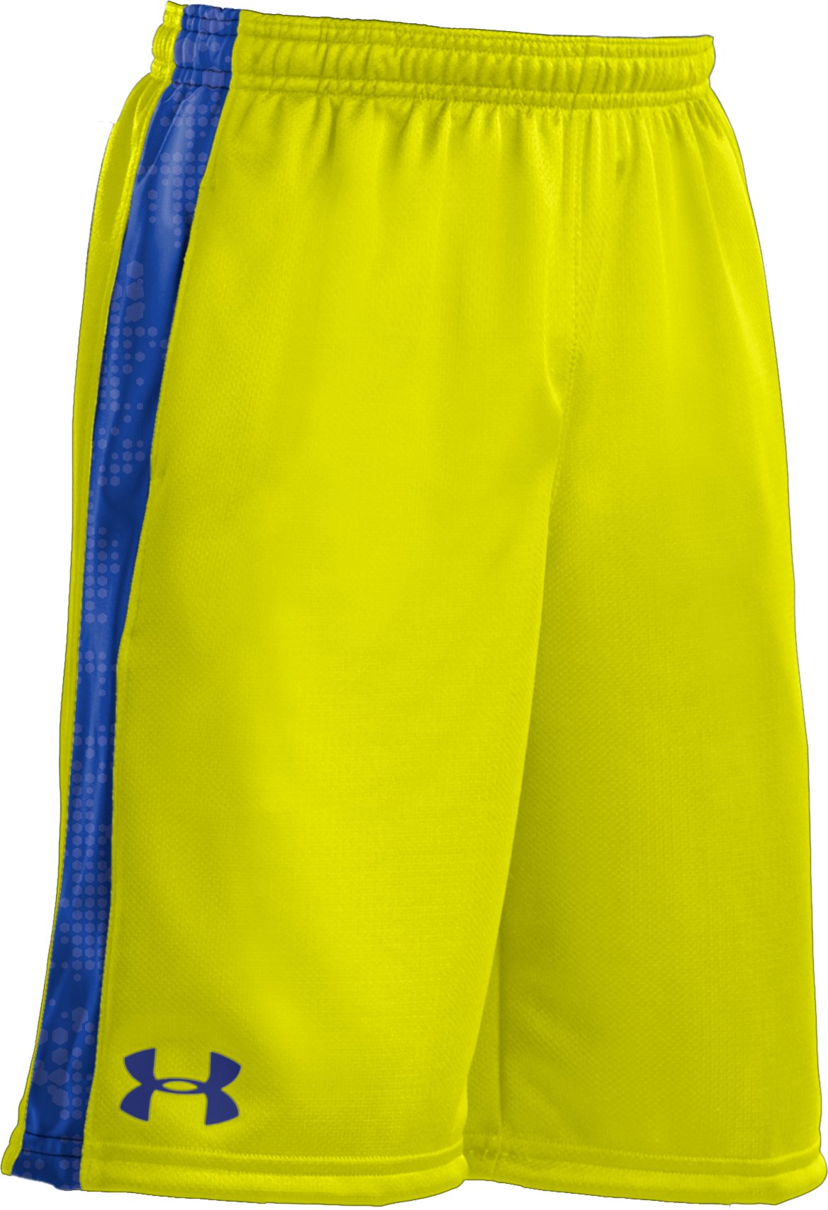 "Boys' UA Ultimate 9"" Shorts, High-Vis Yellow"