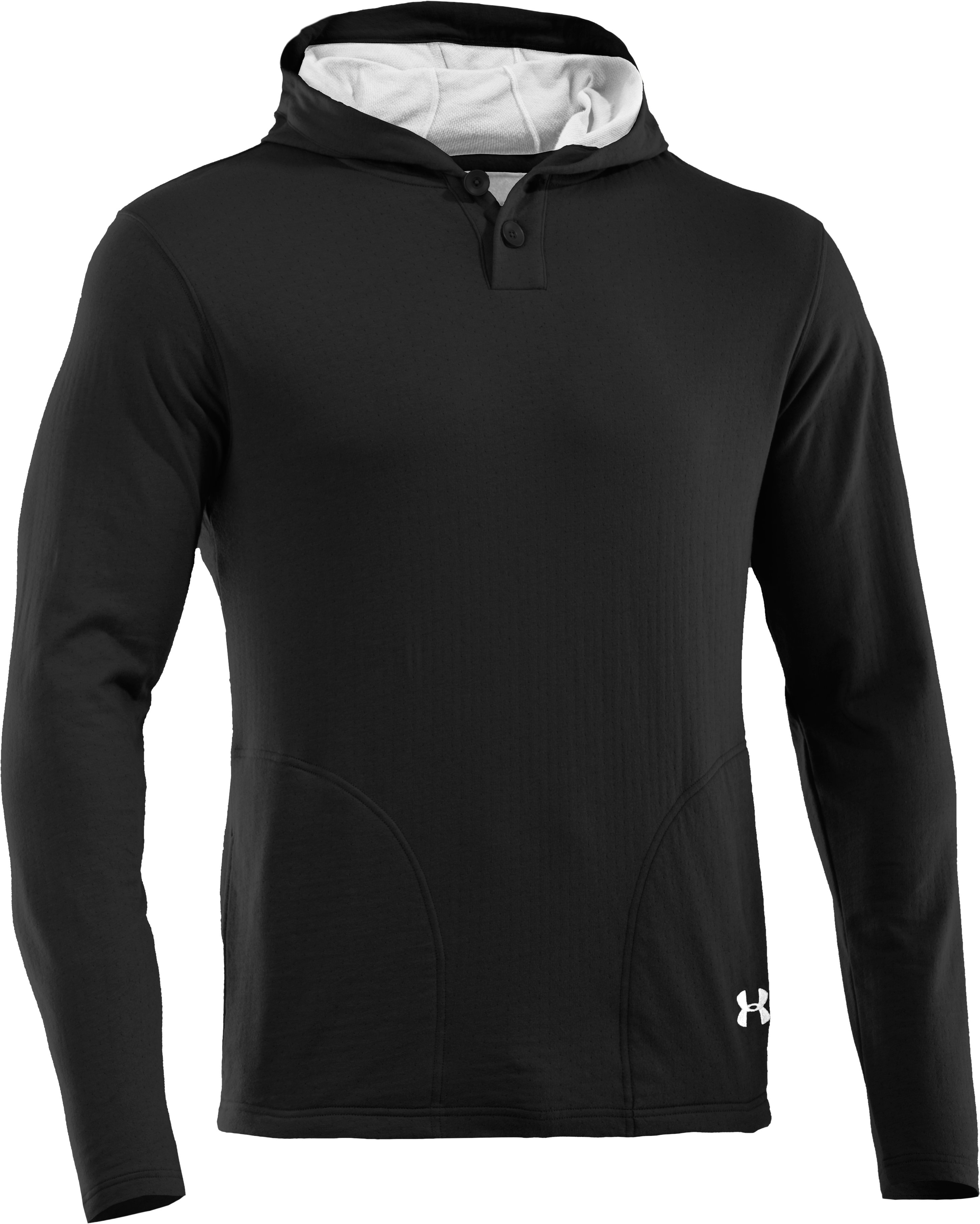 Men's UA RU Worthy Hoodie, Asphalt Heather