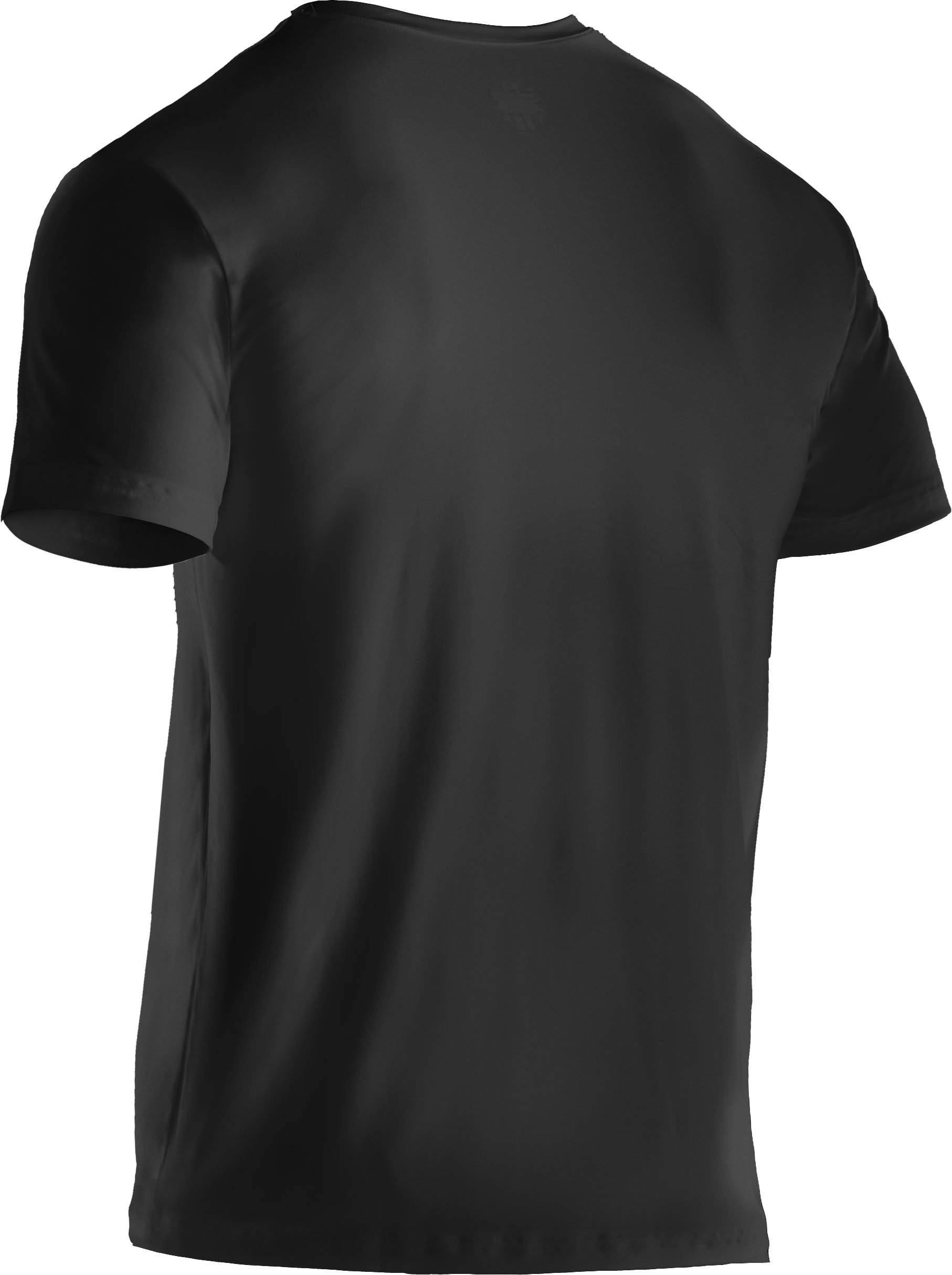 Men's UA HeatGear® Performance Crew Undershirt 2-Pack, Black