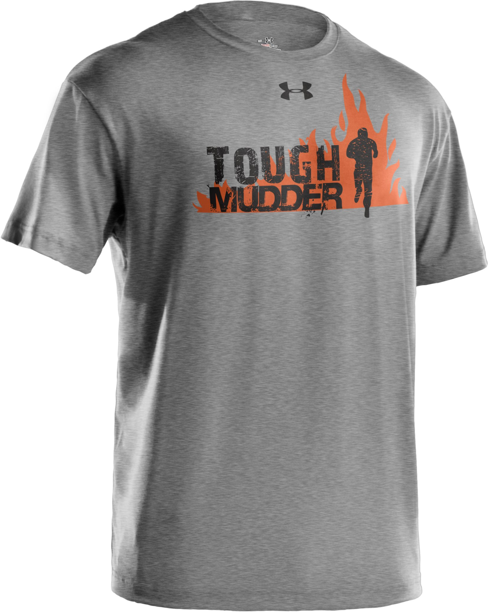 Men's Tough Mudder Rub Some Mud On It T-Shirt, True Gray Heather, undefined