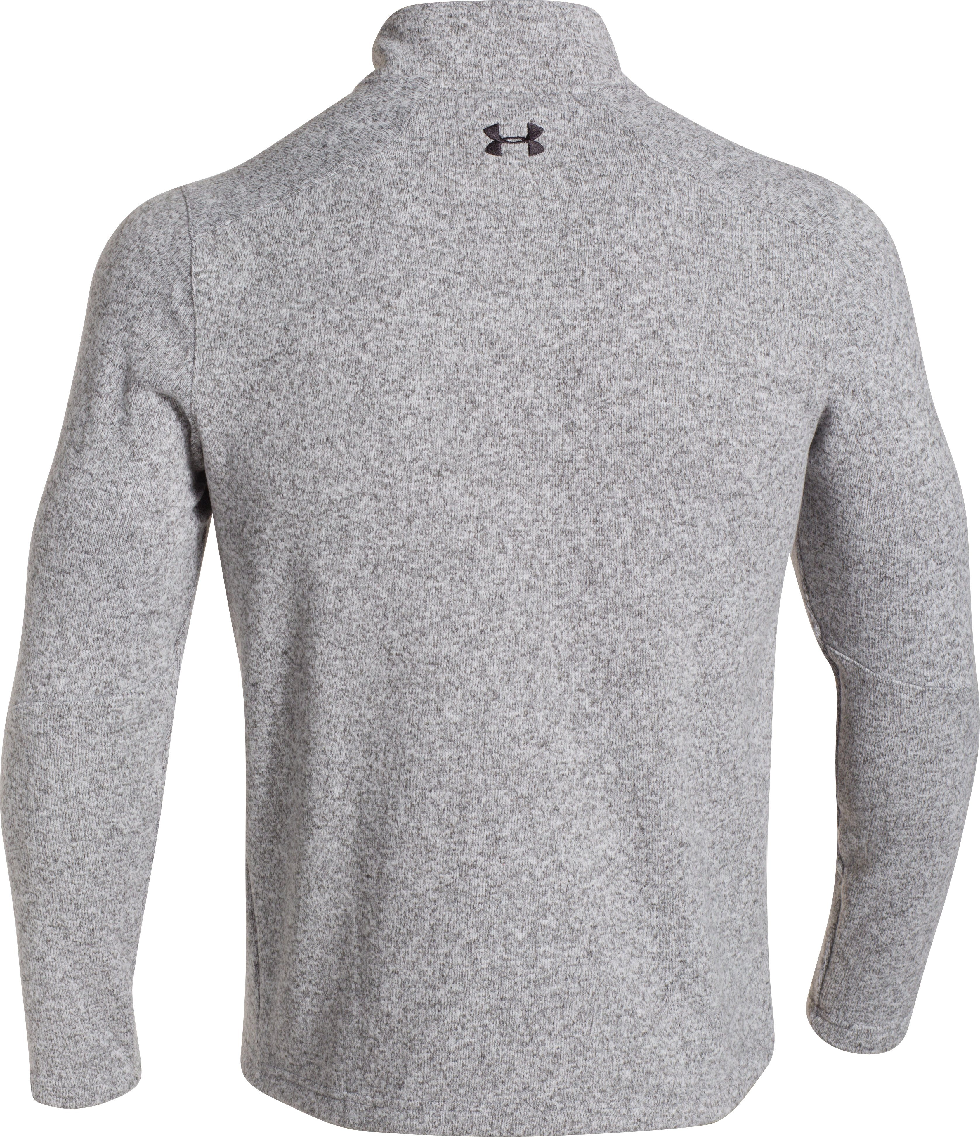 Men's UA Storm Specialist Sweater, True Gray Heather, undefined