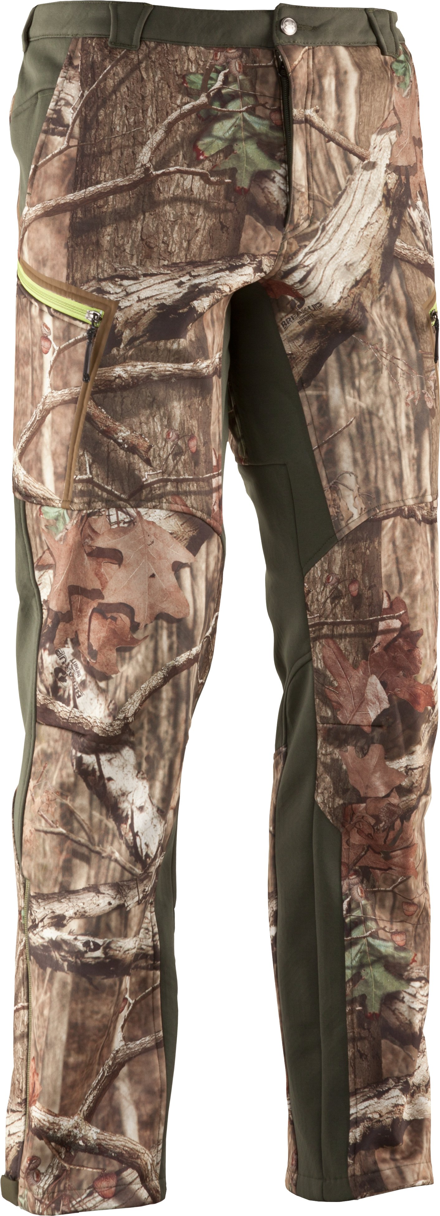 Men's ColdGear® Infrared Ridge Reaper® Softshell Pants, Mossy Oak Break-Up Infinity, undefined