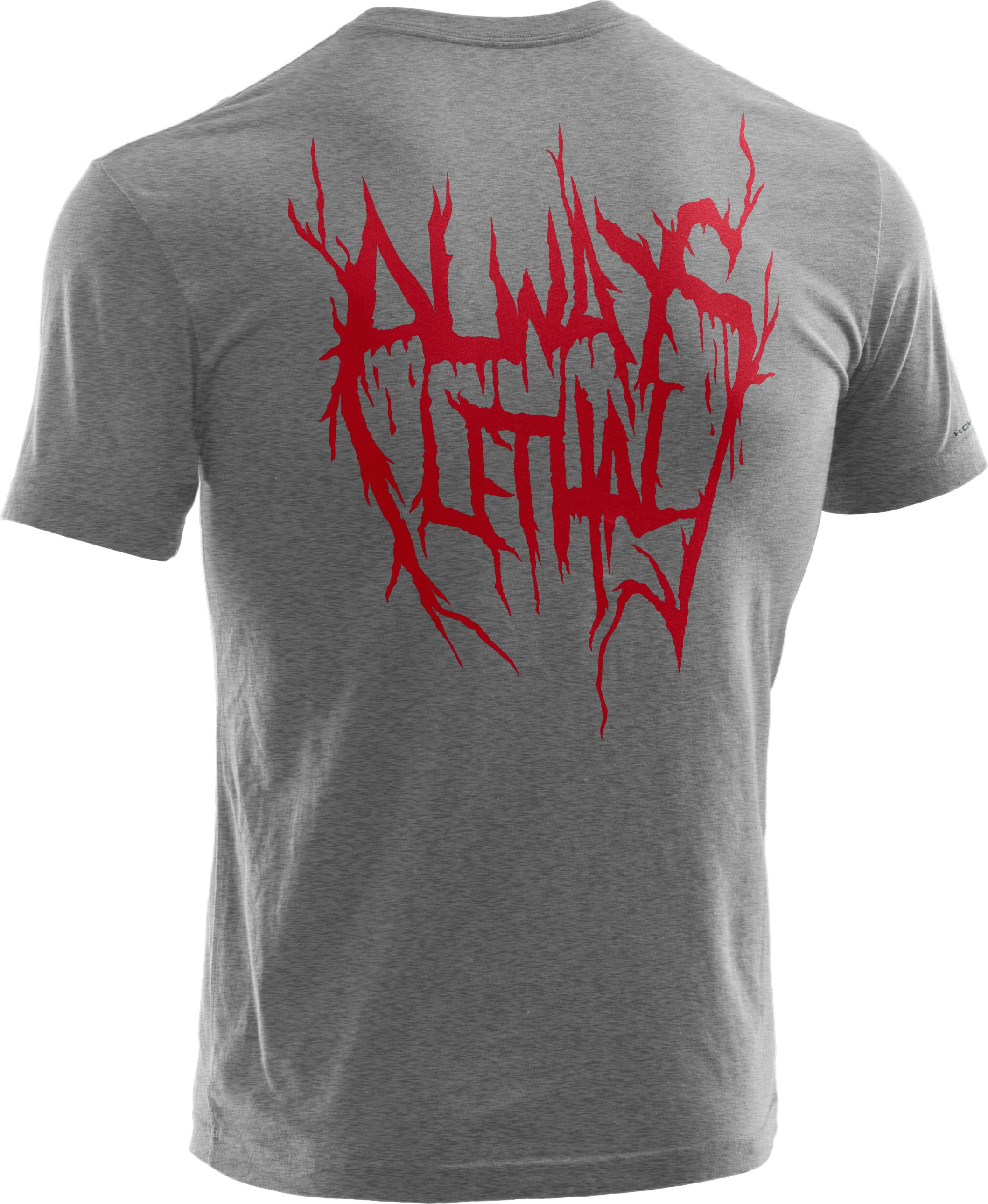 Men's Always Lethal™ Script T-Shirt, True Gray Heather