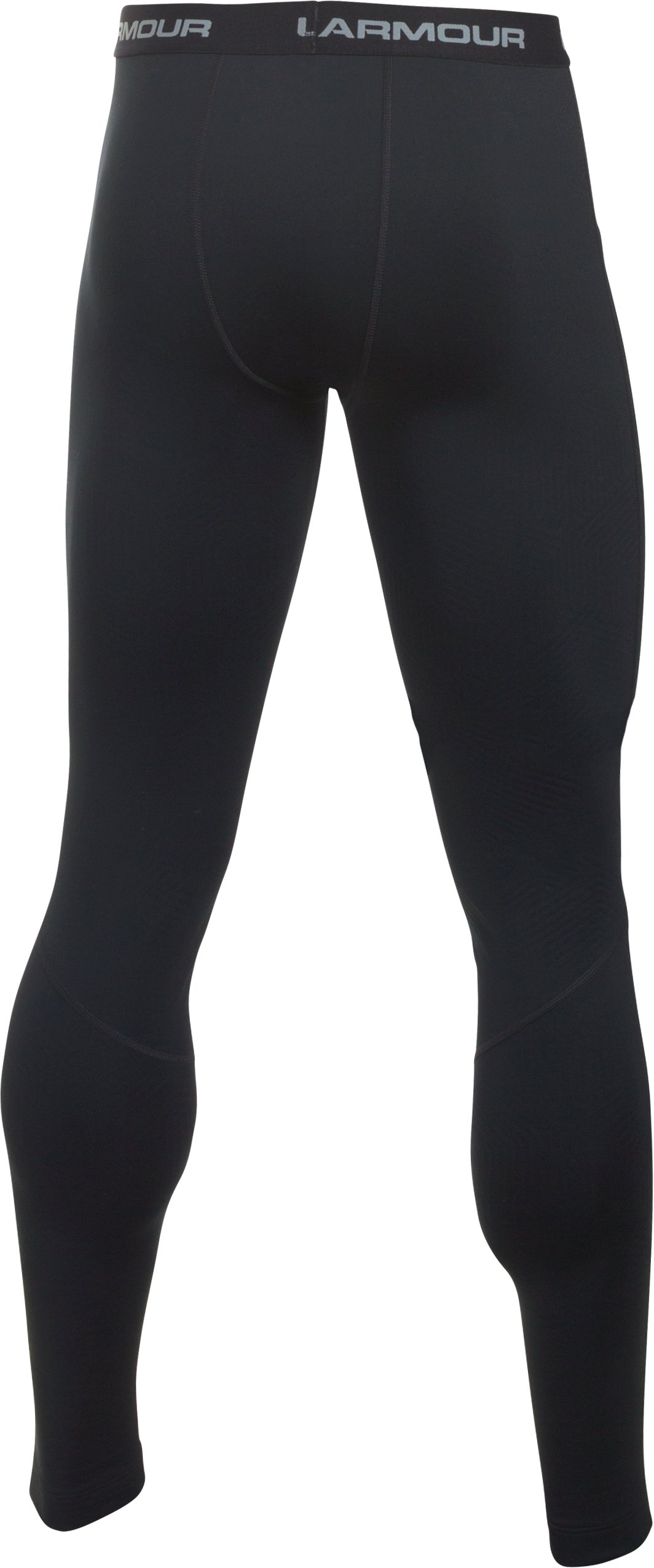 Men's UA ColdGear® Infrared Fitted Leggings, Black , undefined