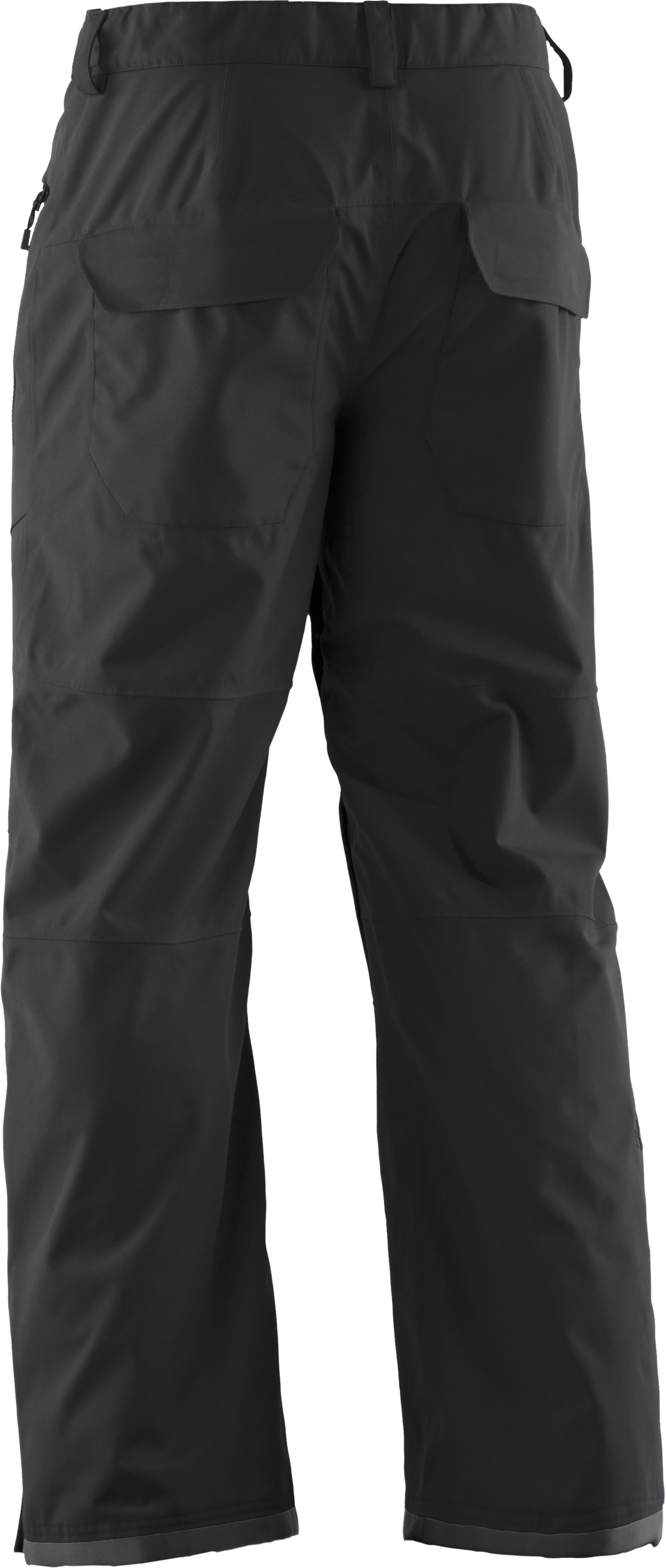 Men's ColdGear® Infrared Hatcher Pants, Black , undefined