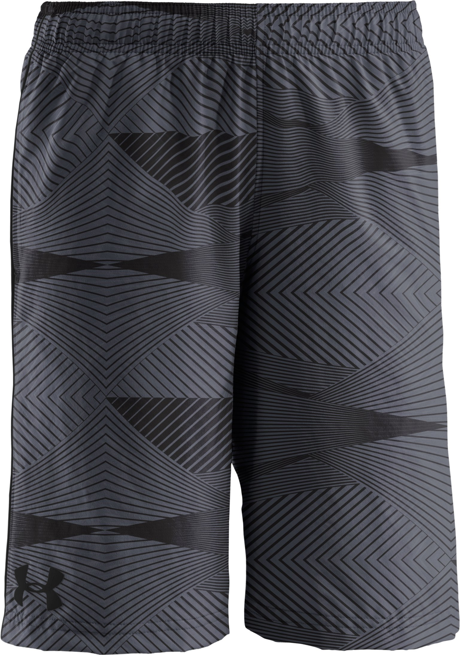 Boys' UA Ripping Shorts, Graphite, zoomed image