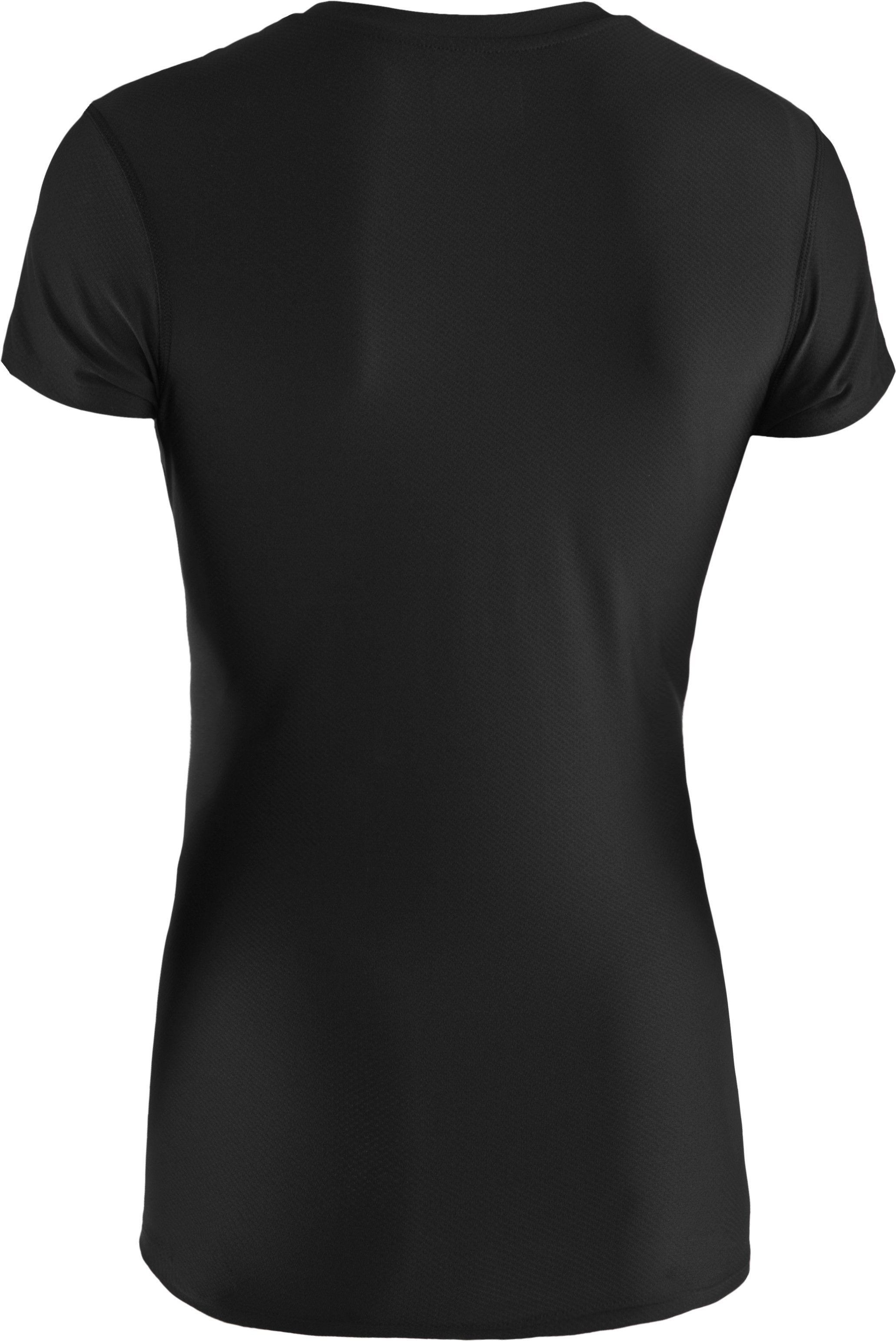 Women's UA Authentic T-Shirt, Black ,