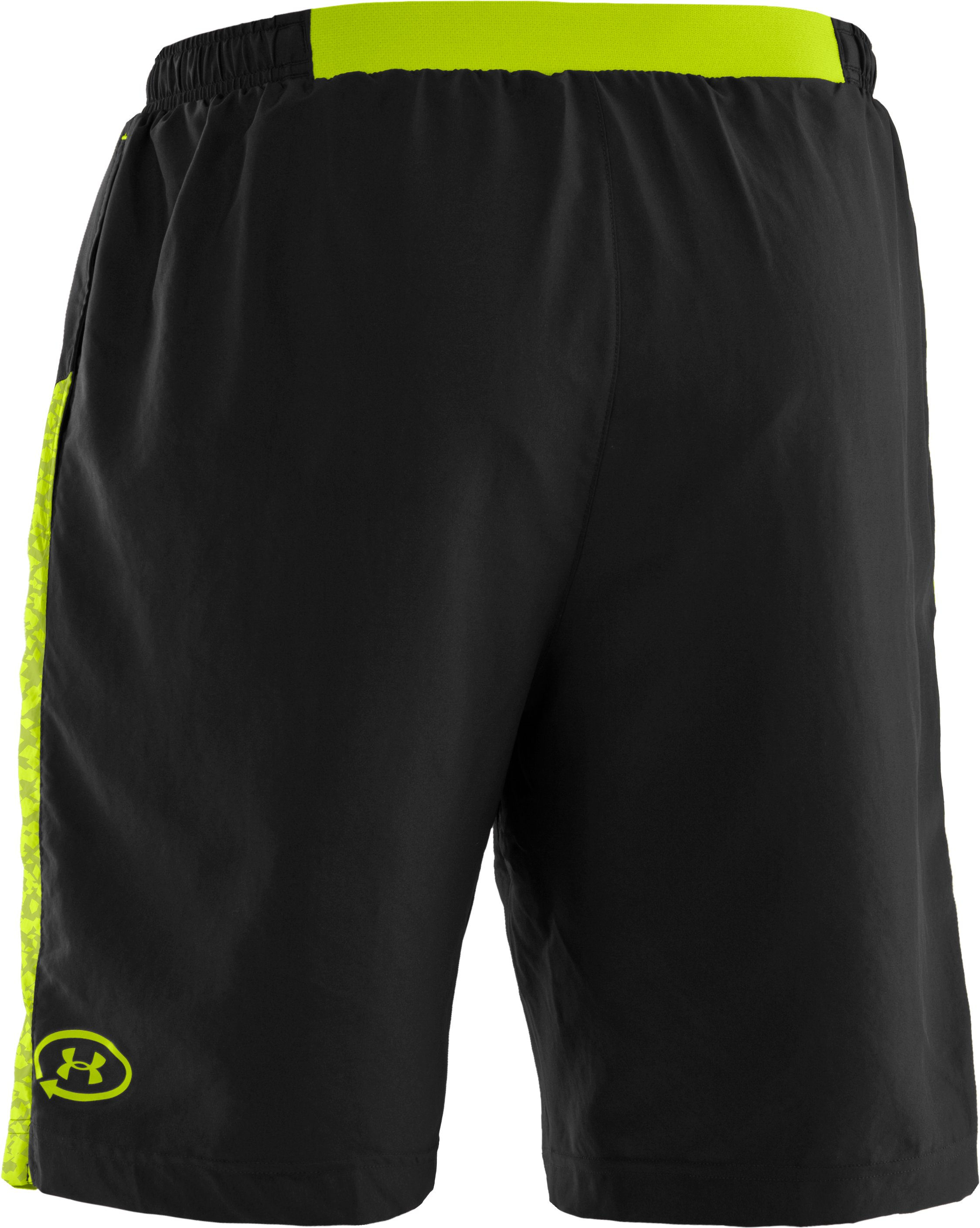 "Men's UA Anatomix Run 9"" Shorts, Black"
