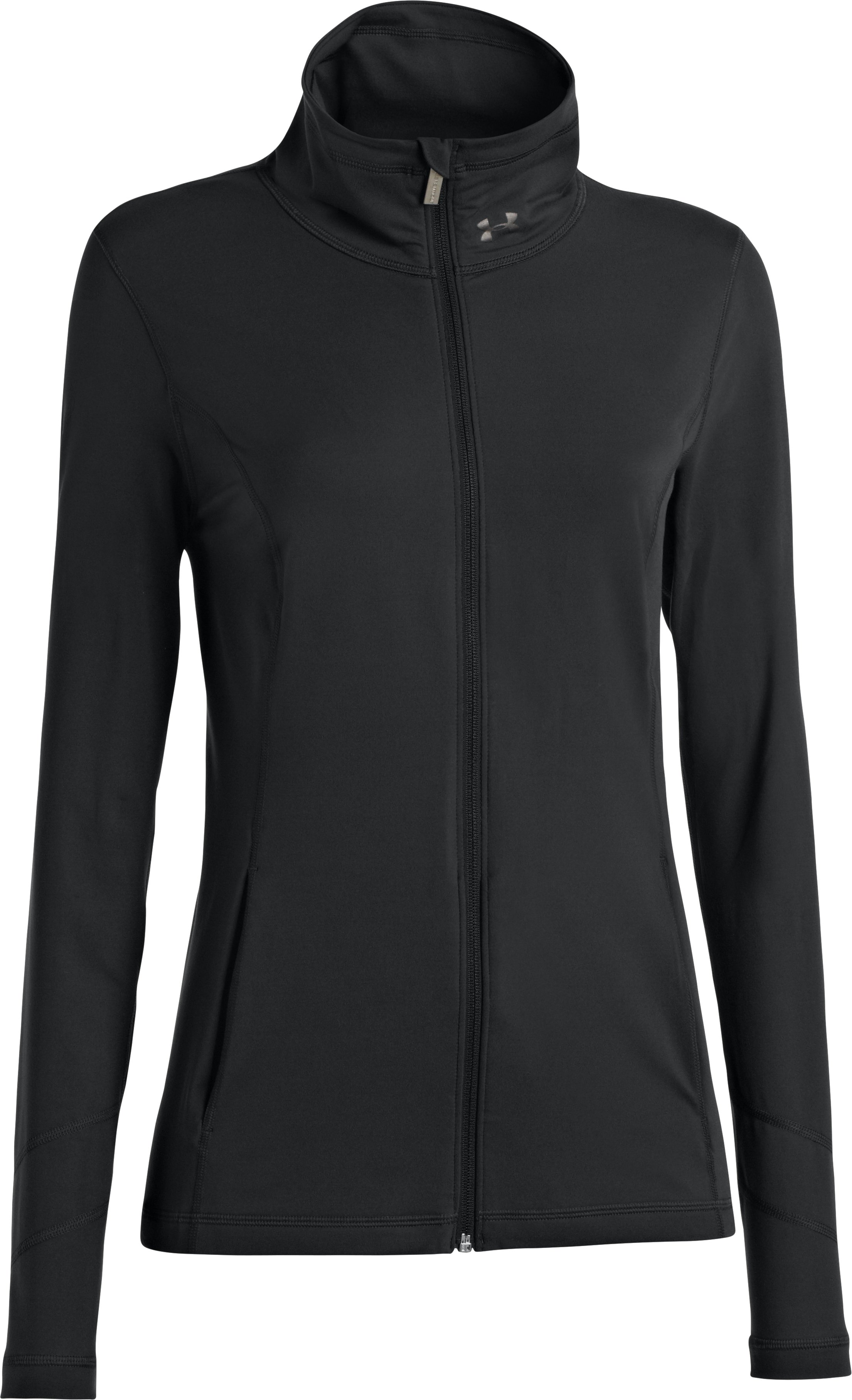 Women's UA Perfect Jacket, ANTHRACITE