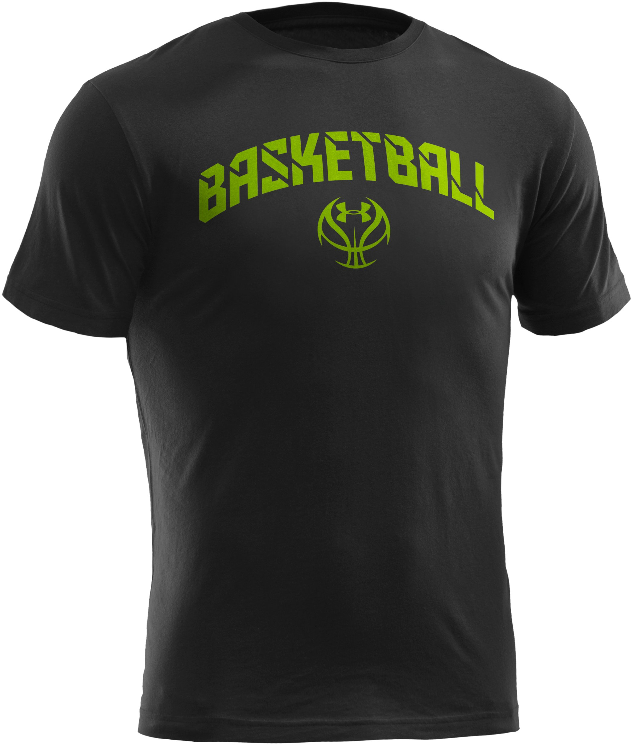 Men's UA Basketball T-Shirt, Black