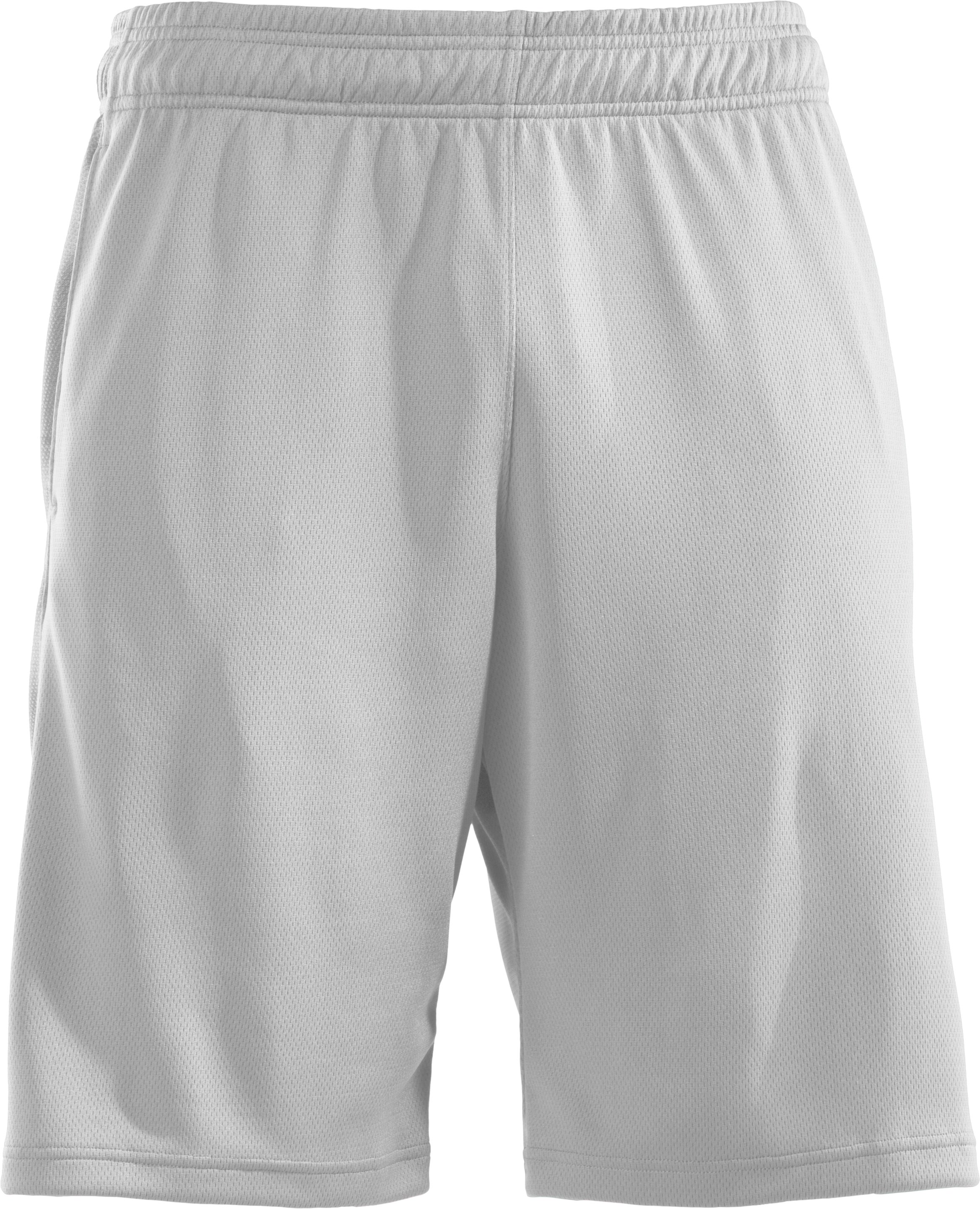"Men's UA Stickwitit 12"" Shorts, White"