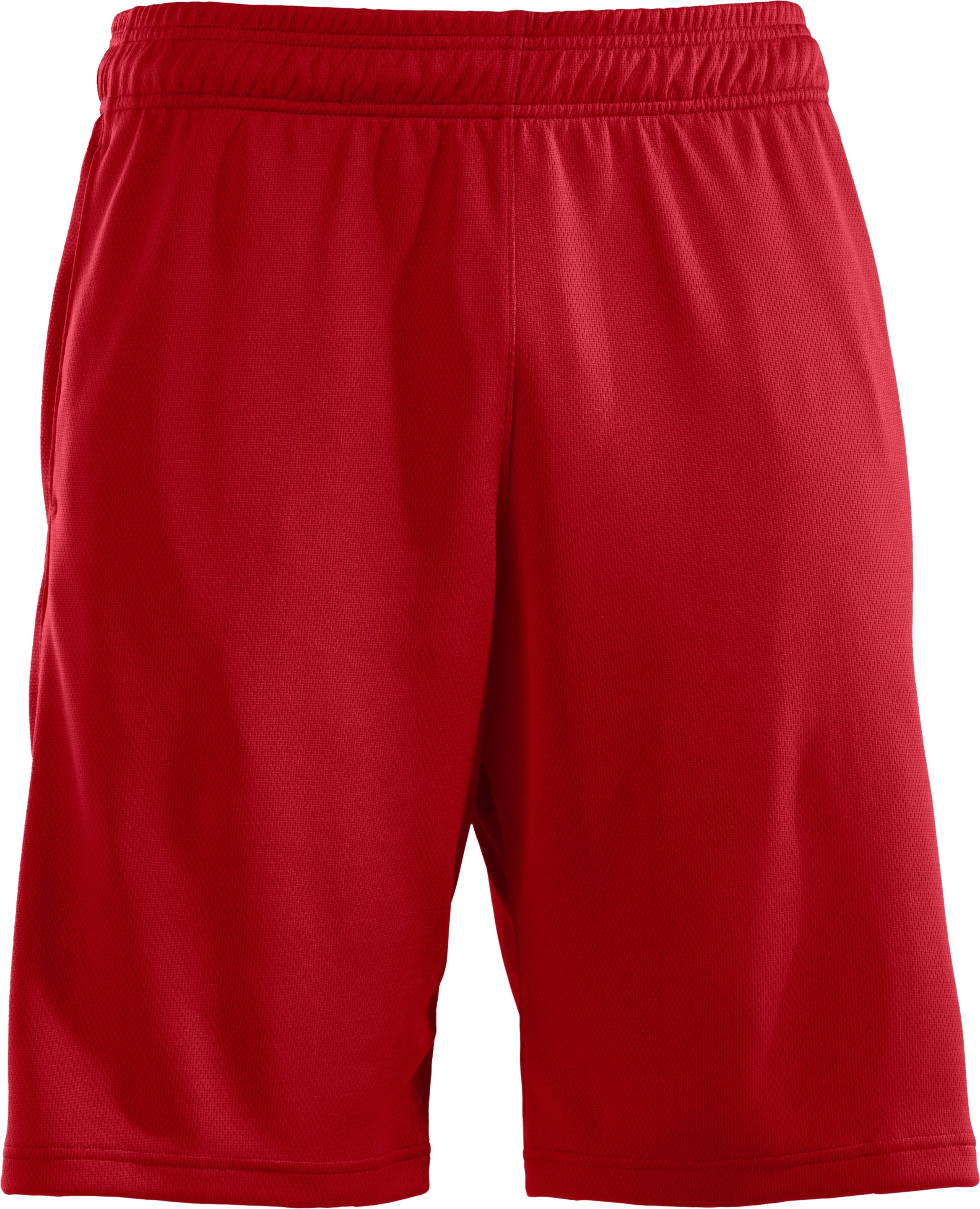 "Men's UA Stickwitit 12"" Shorts, Red"