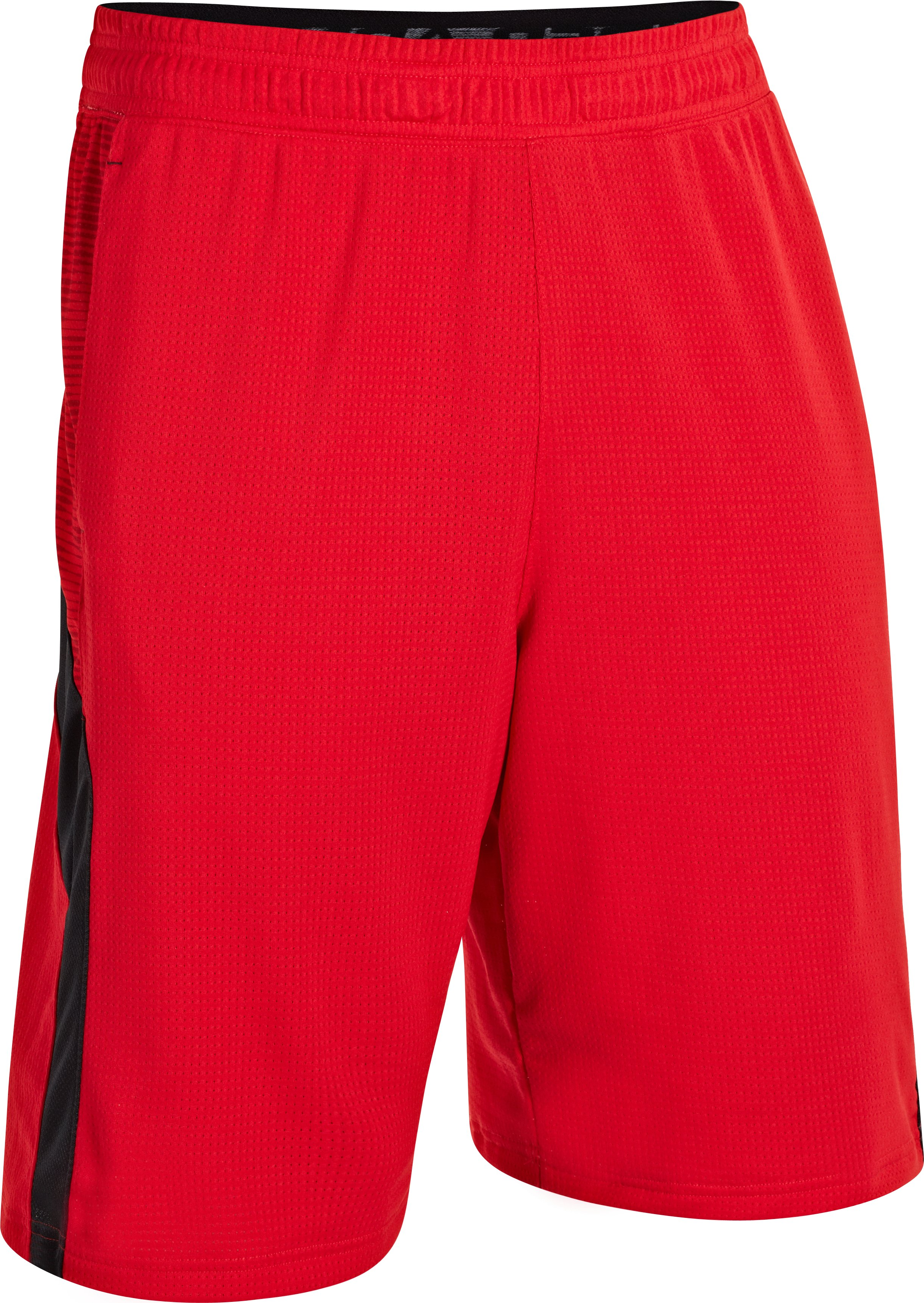"Men's UA Ubettablieveit 12"" Shorts, Red"