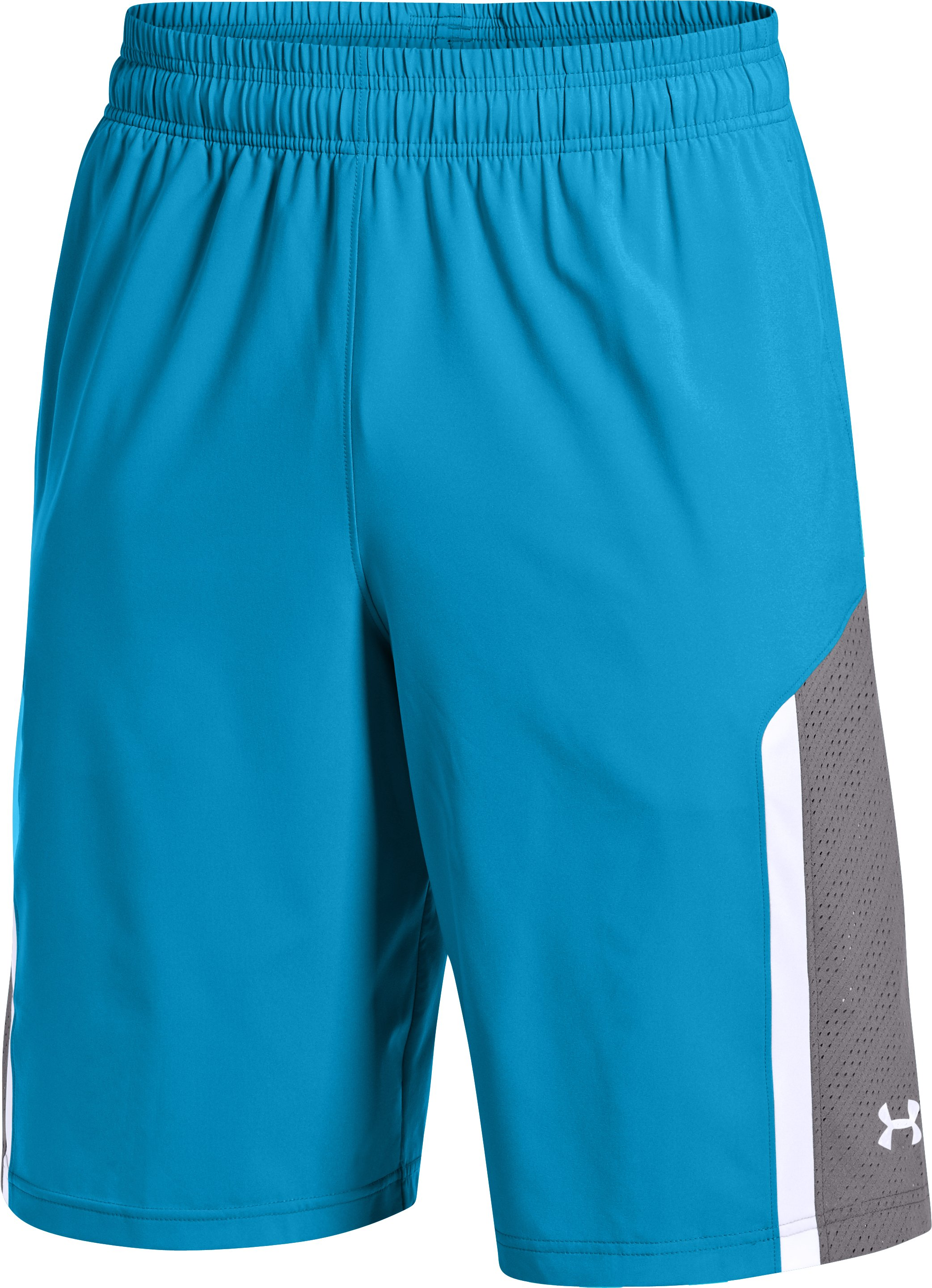 "Men's UA Runwitit 12"" Shorts, PIRATE BLUE"