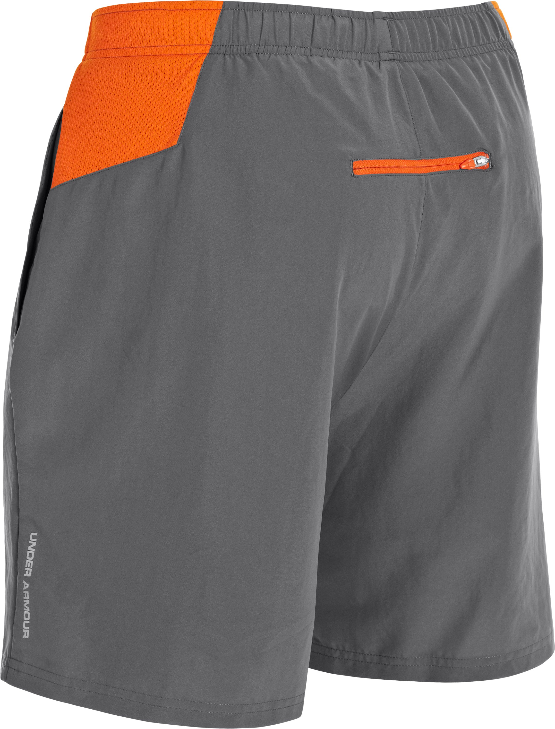 Men's UA Sixth Man 2-in-1 Shorts, Graphite