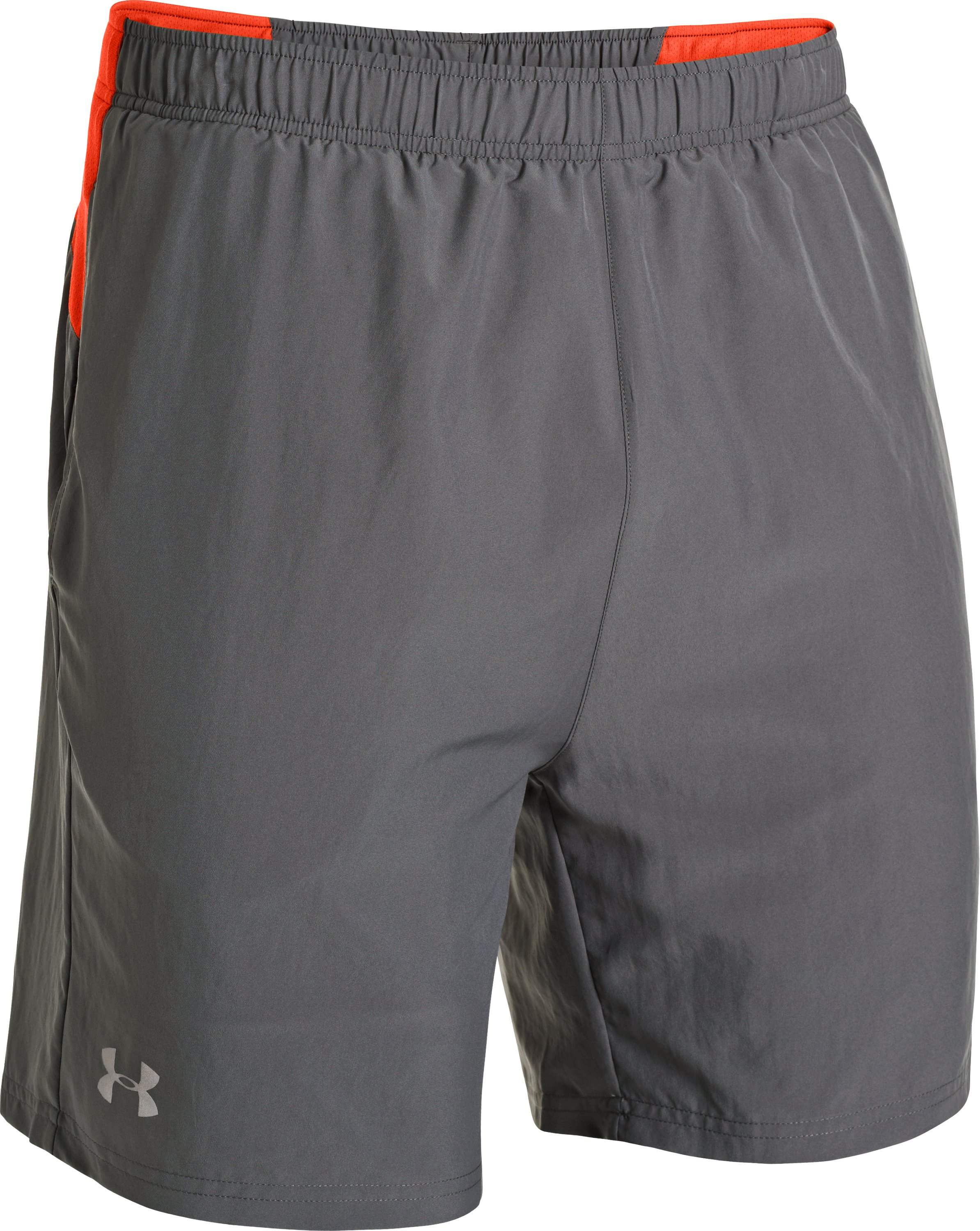 Men's UA Sixth Man 2-in-1 Shorts, Graphite, undefined