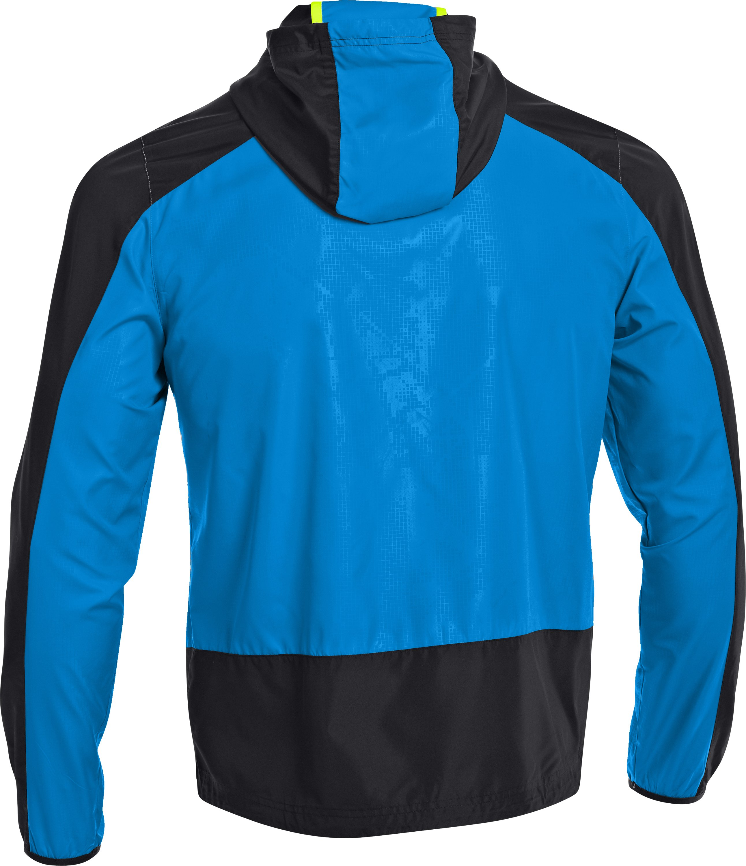 Men's UA Storm Imminent Run Jacket, Black , undefined