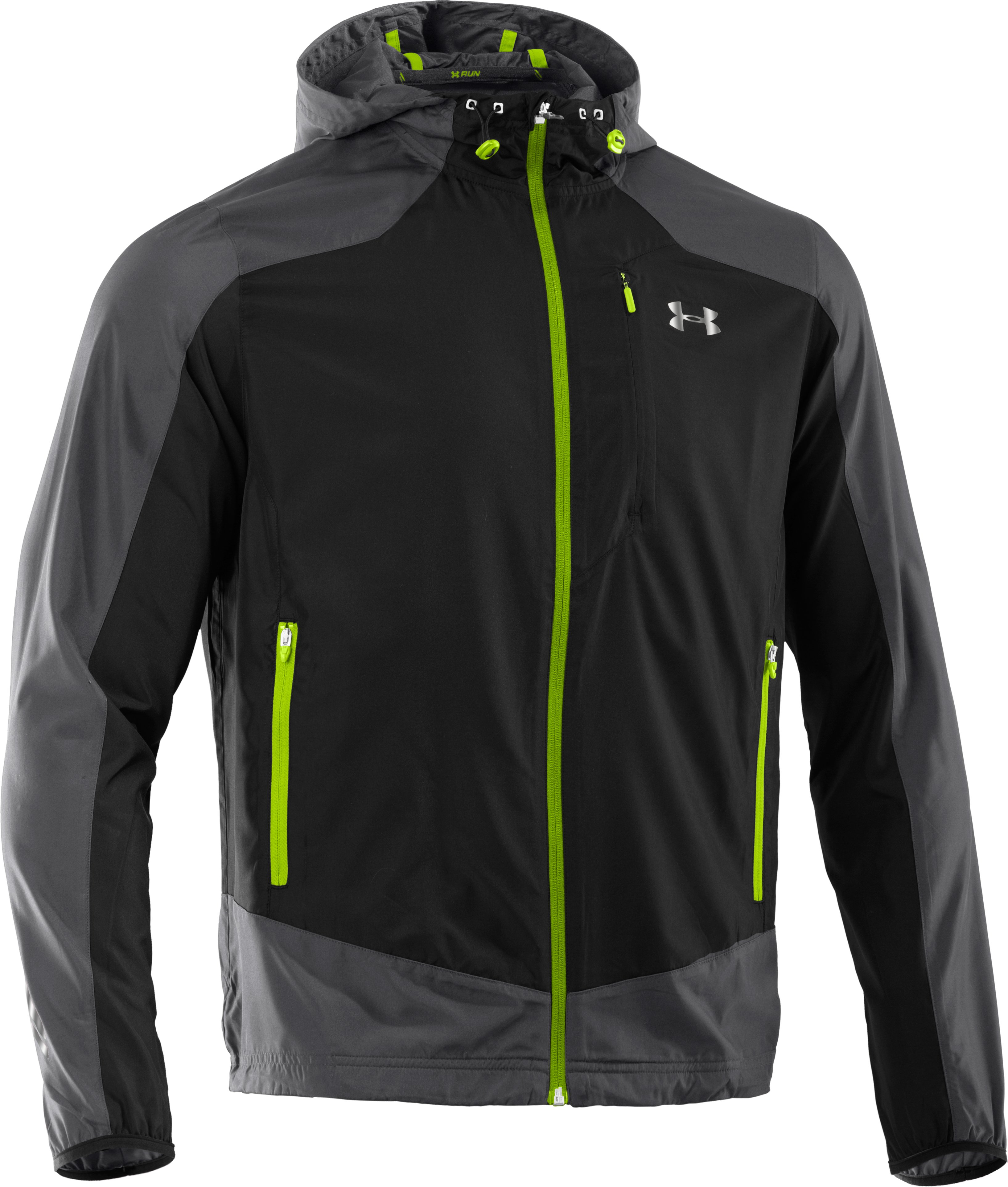 Men's UA Storm Imminent Run Jacket, Graphite
