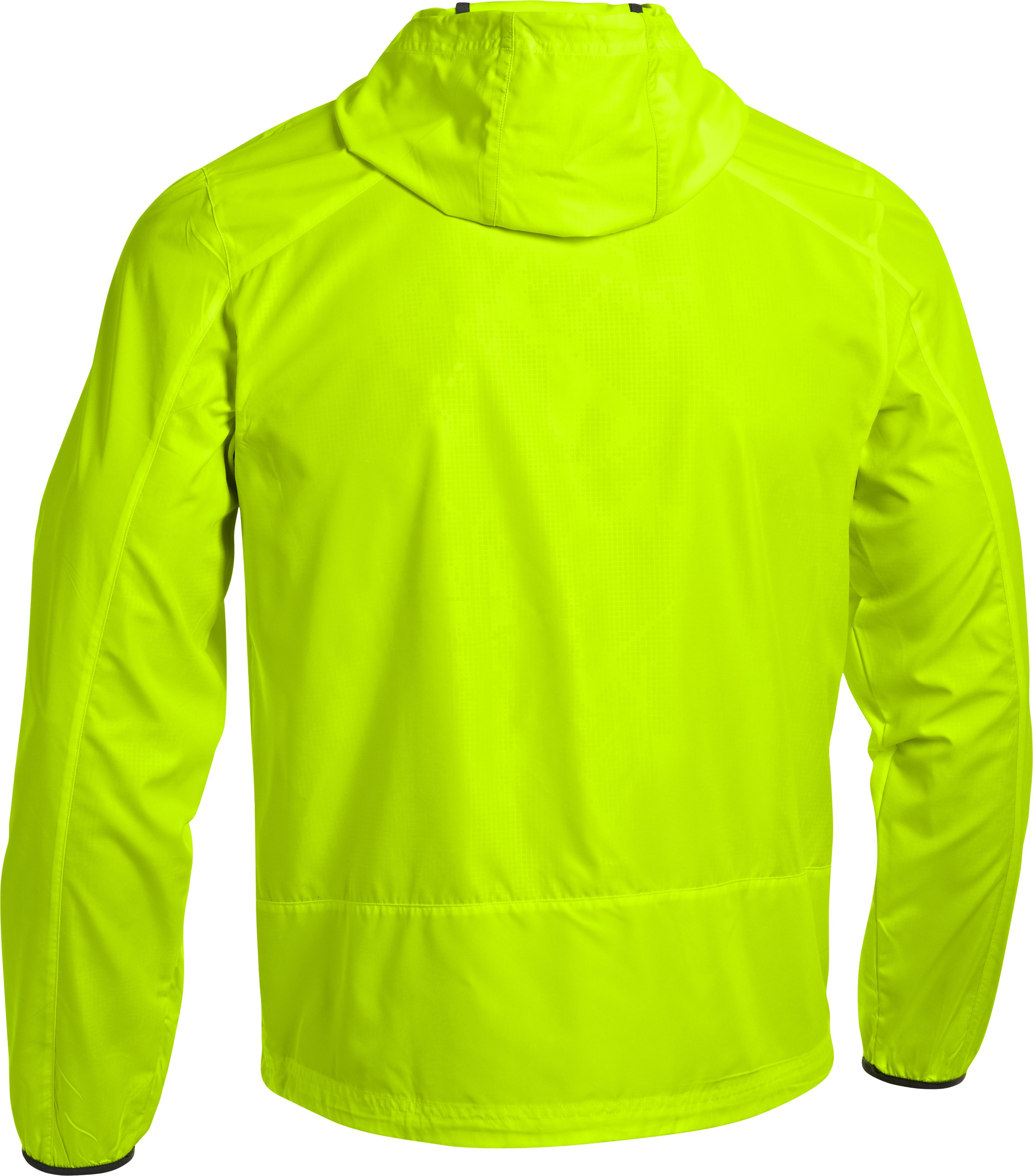 Men's UA Storm Imminent Run Jacket, High-Vis Yellow