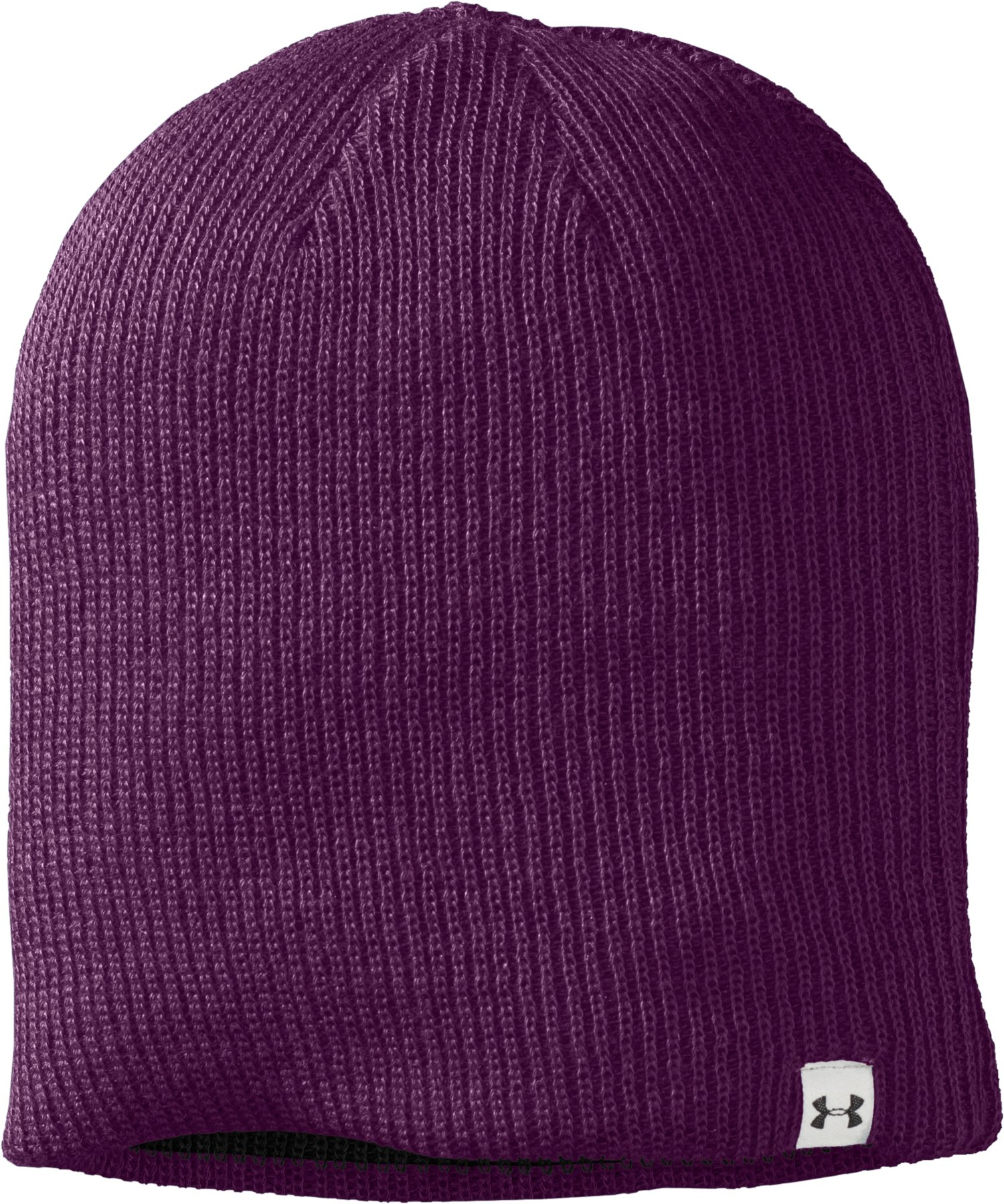 Women's UA Classic Reversible Beanie, Black , undefined