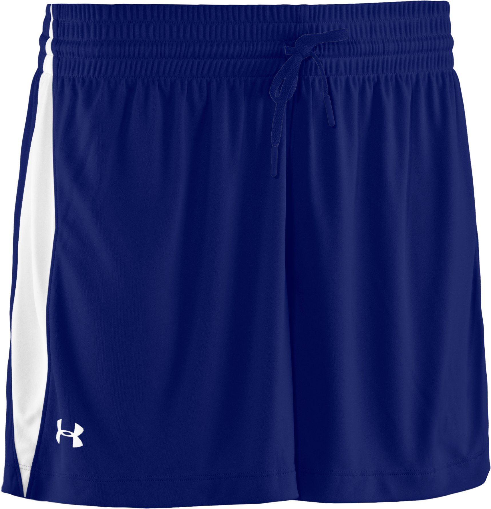 Women's UA Recruit Shorts, Royal