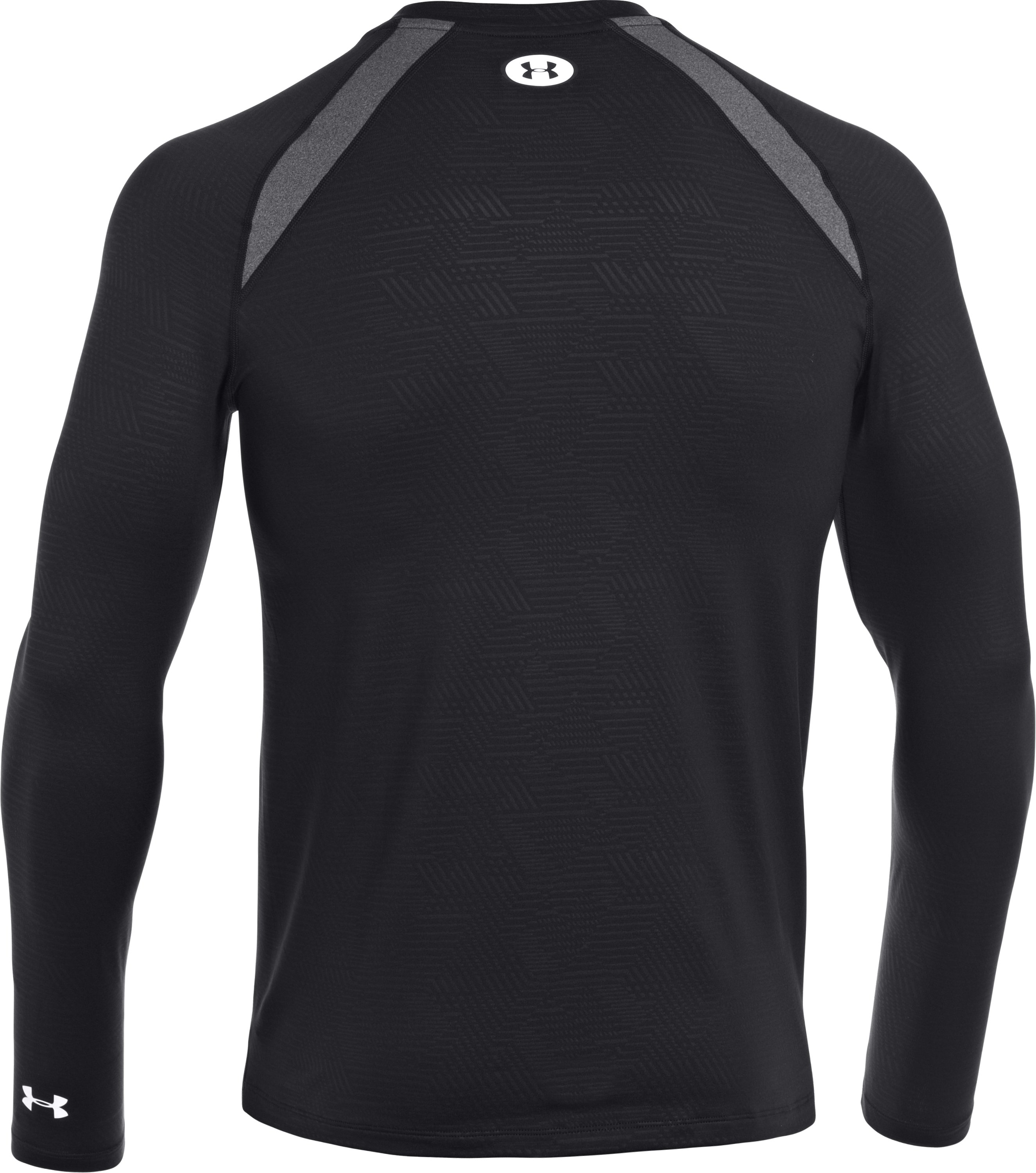Men's UA Golf ColdGear® Fitted Crew, Black