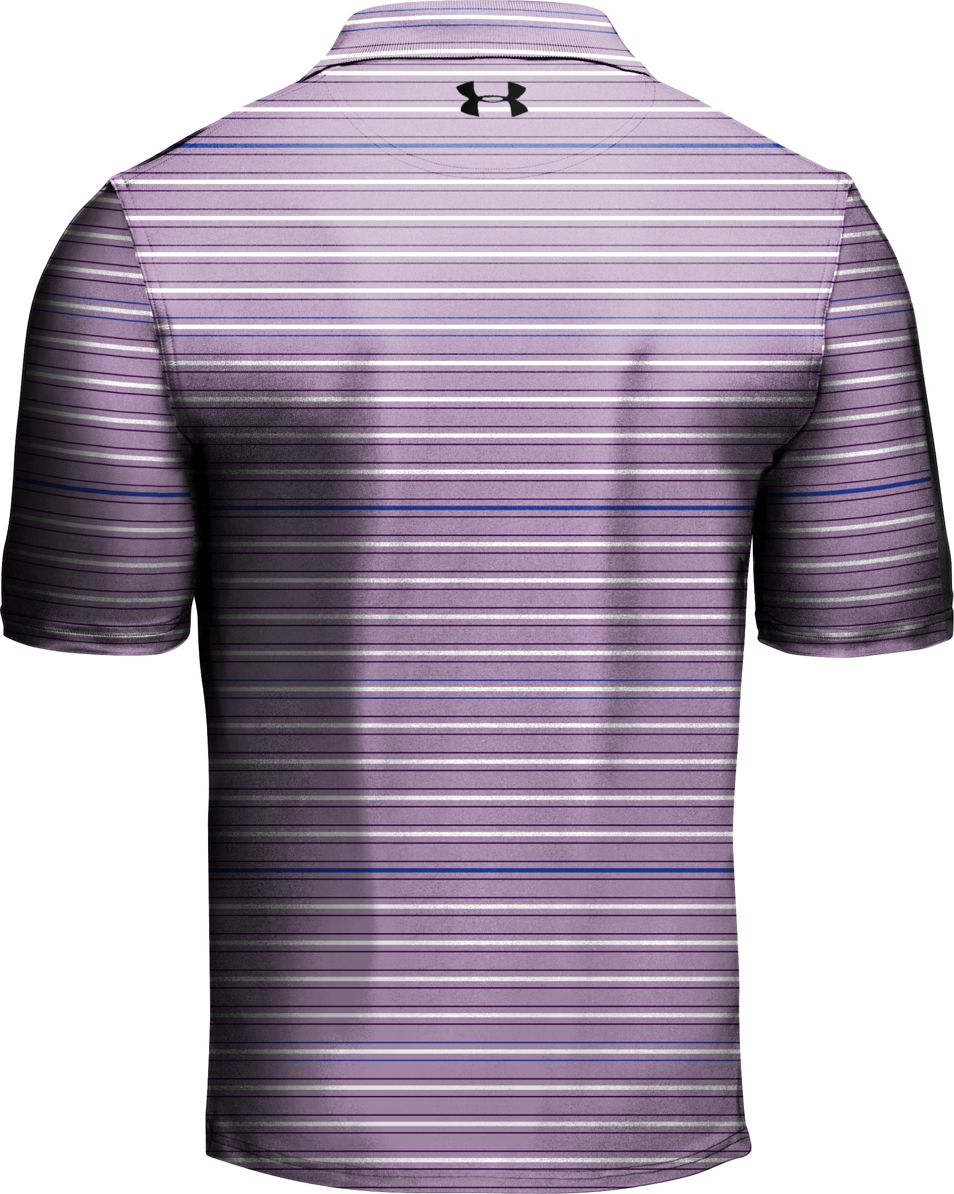 Men's UA Performance Stripe Polo, Jellyfish, undefined