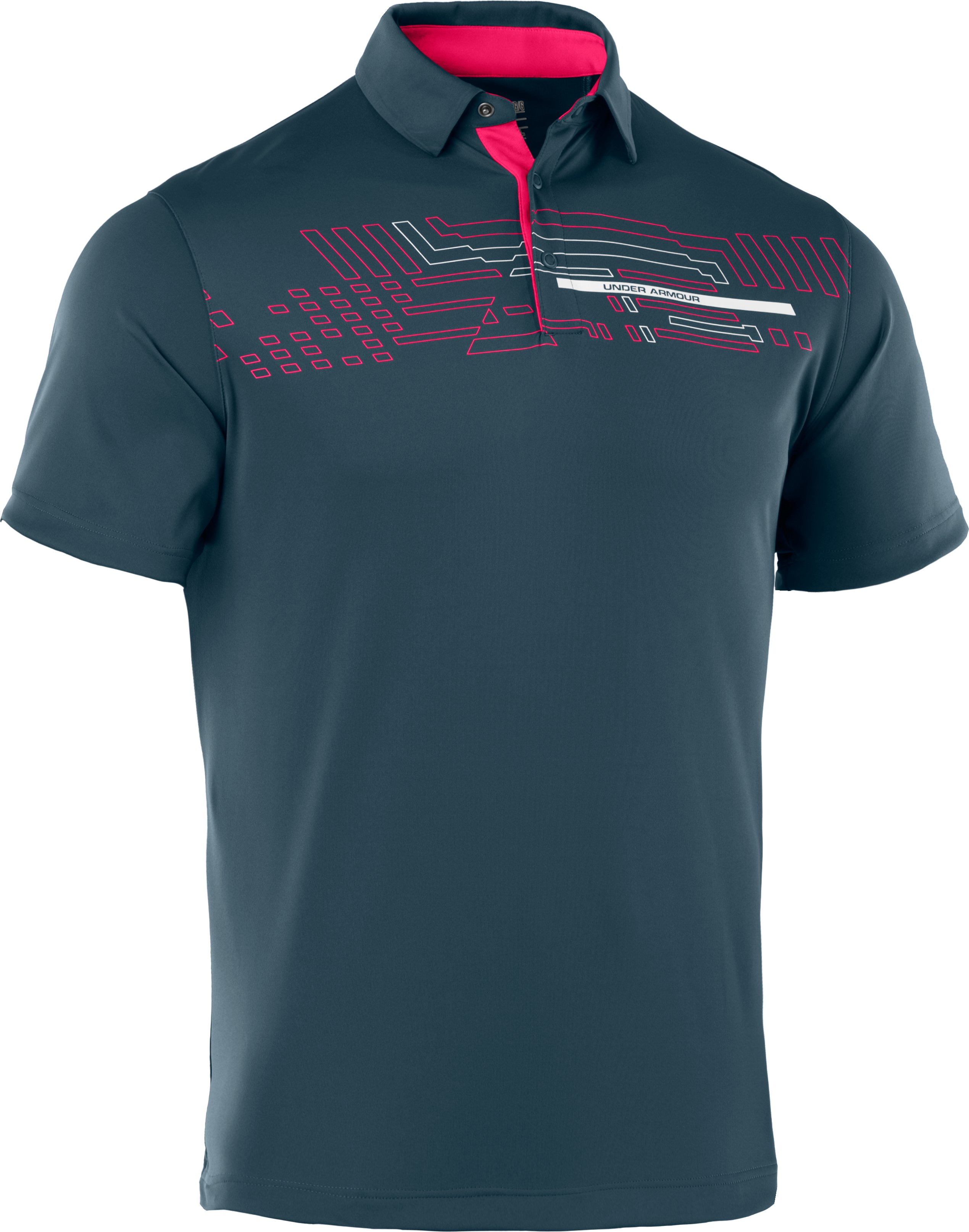 Men's UA Energy Graphic Polo, Wham, undefined