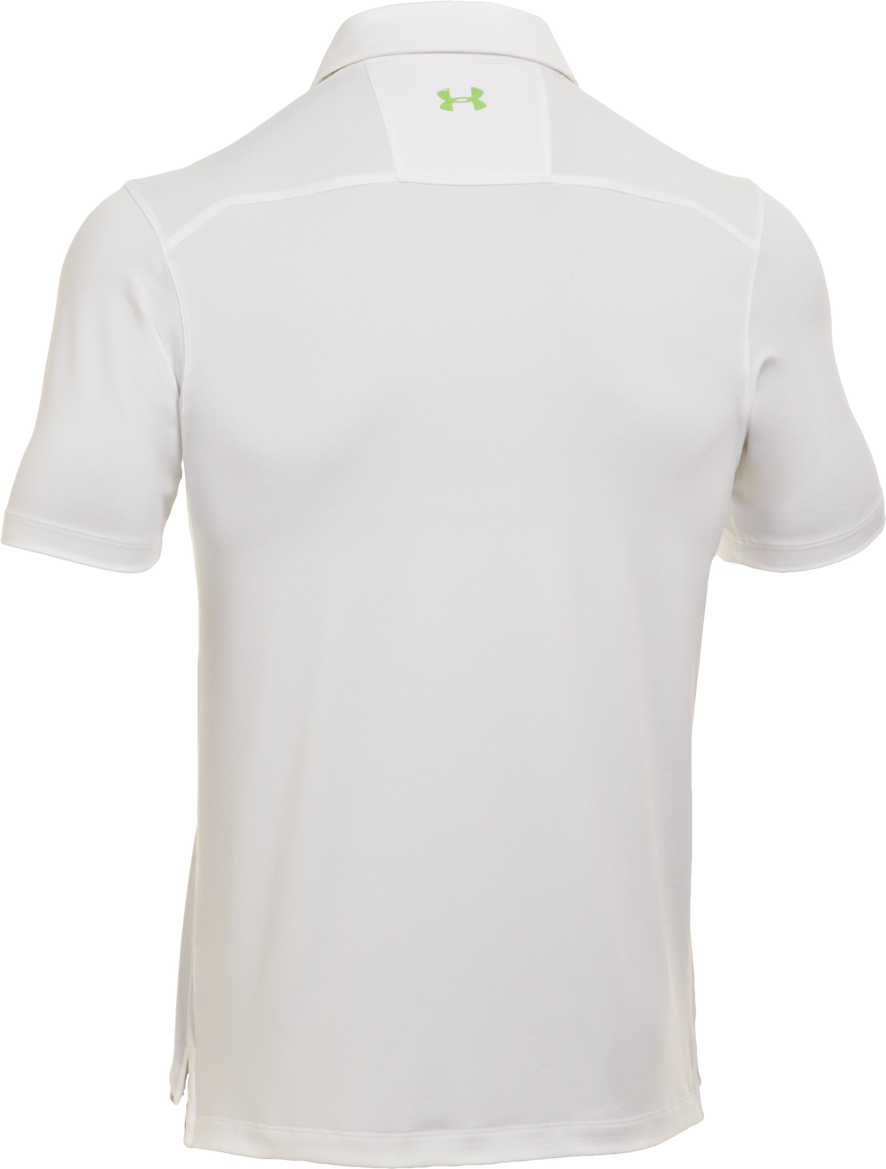 Men's UA Operative Stripe Polo, White