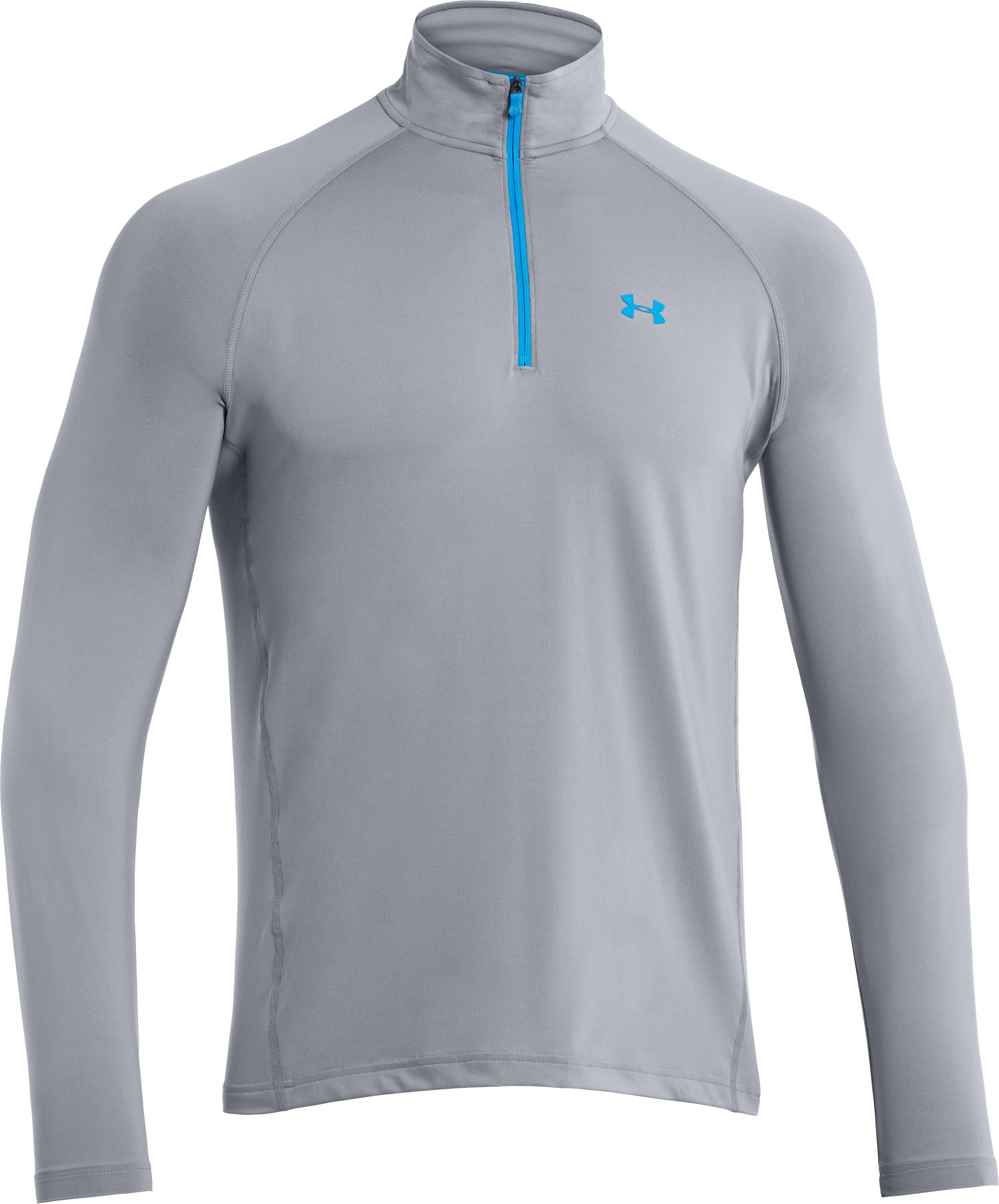 Men's UA Golf Lightweight ¼ Zip, Steel,