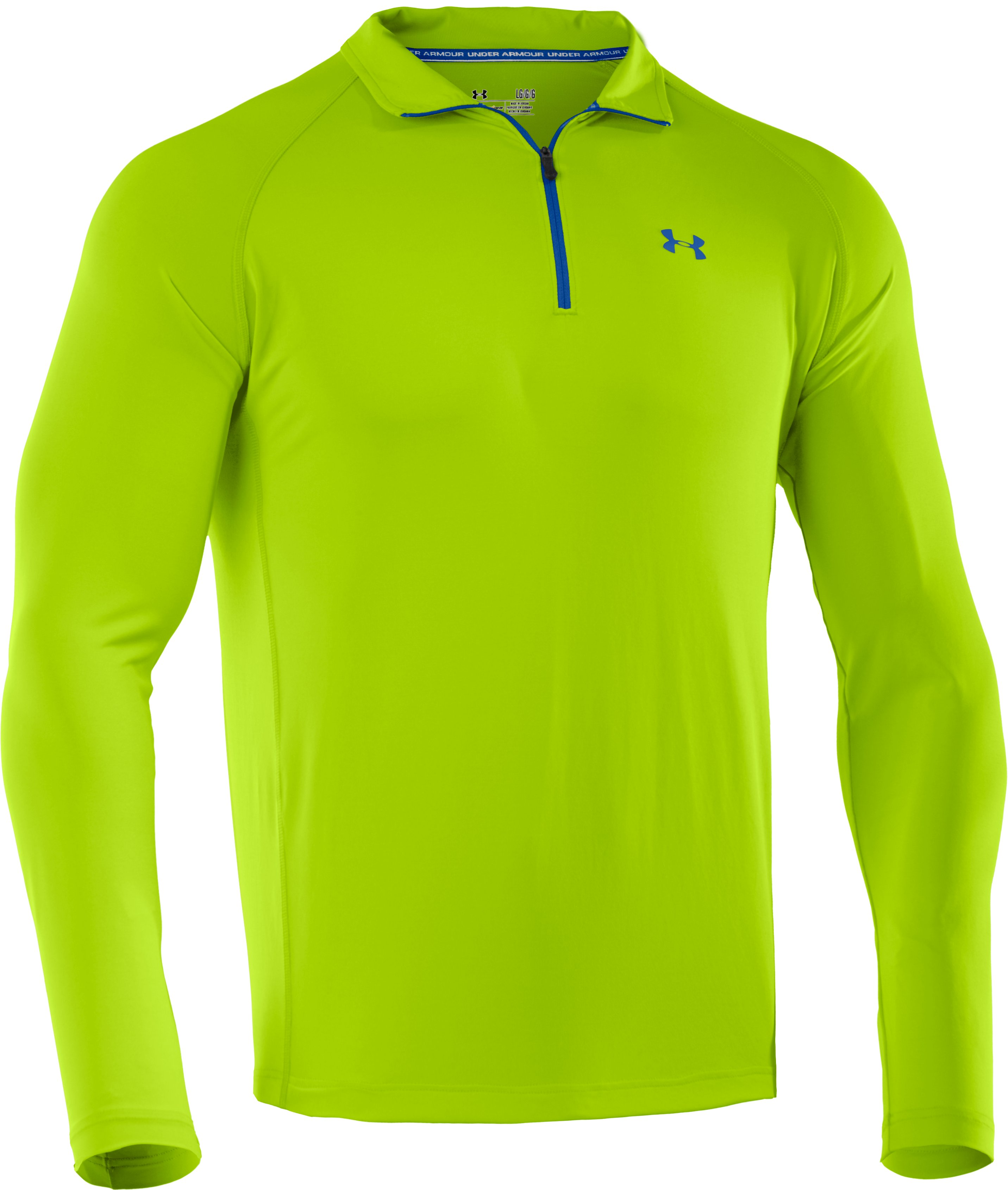 Men's UA Golf Lightweight ¼ Zip, HYPER GREEN