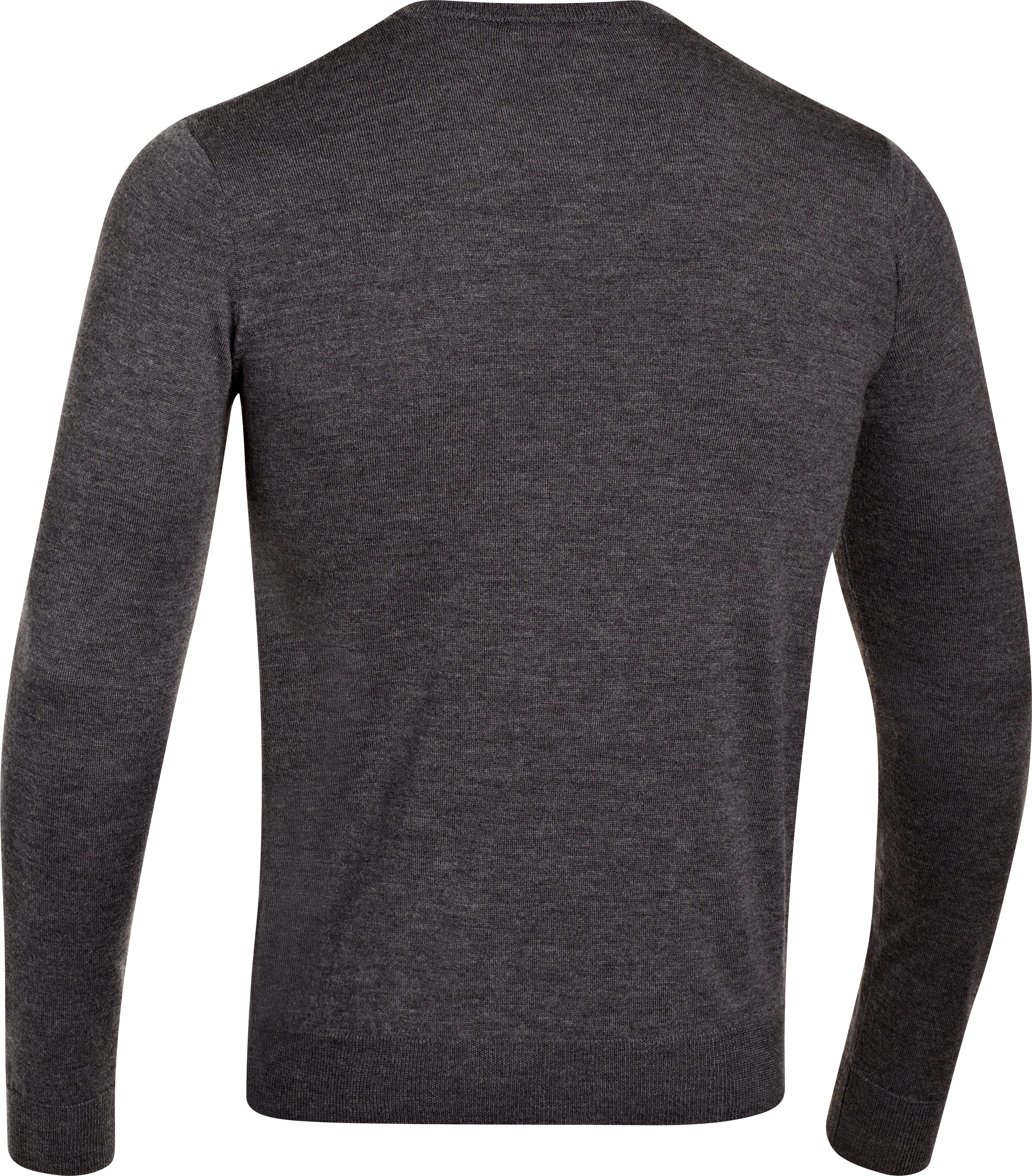 Men's UA V-Neck Sweater, Carbon Heather