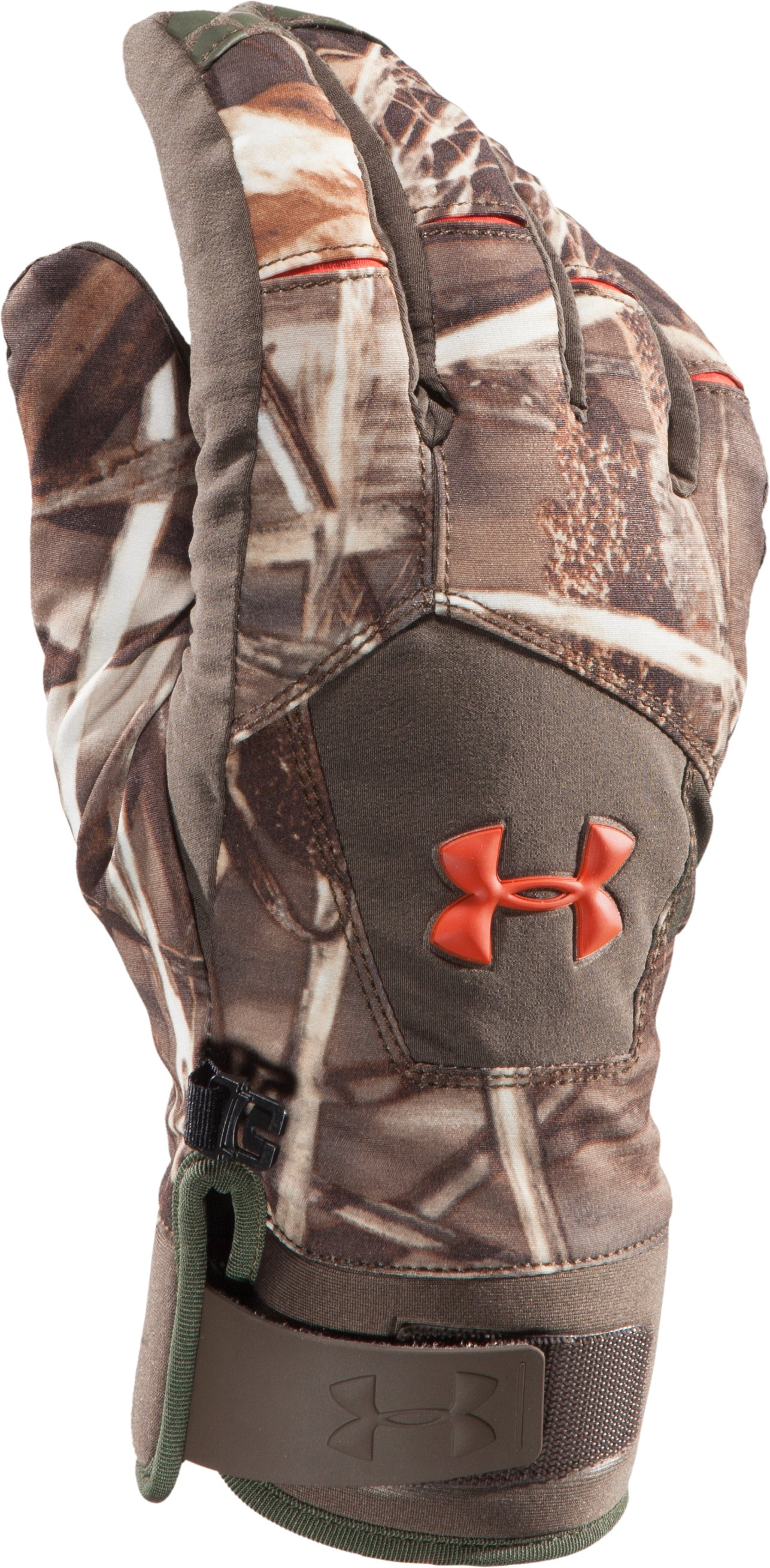 Men's UA Primer Gloves, Realtree Max, zoomed image