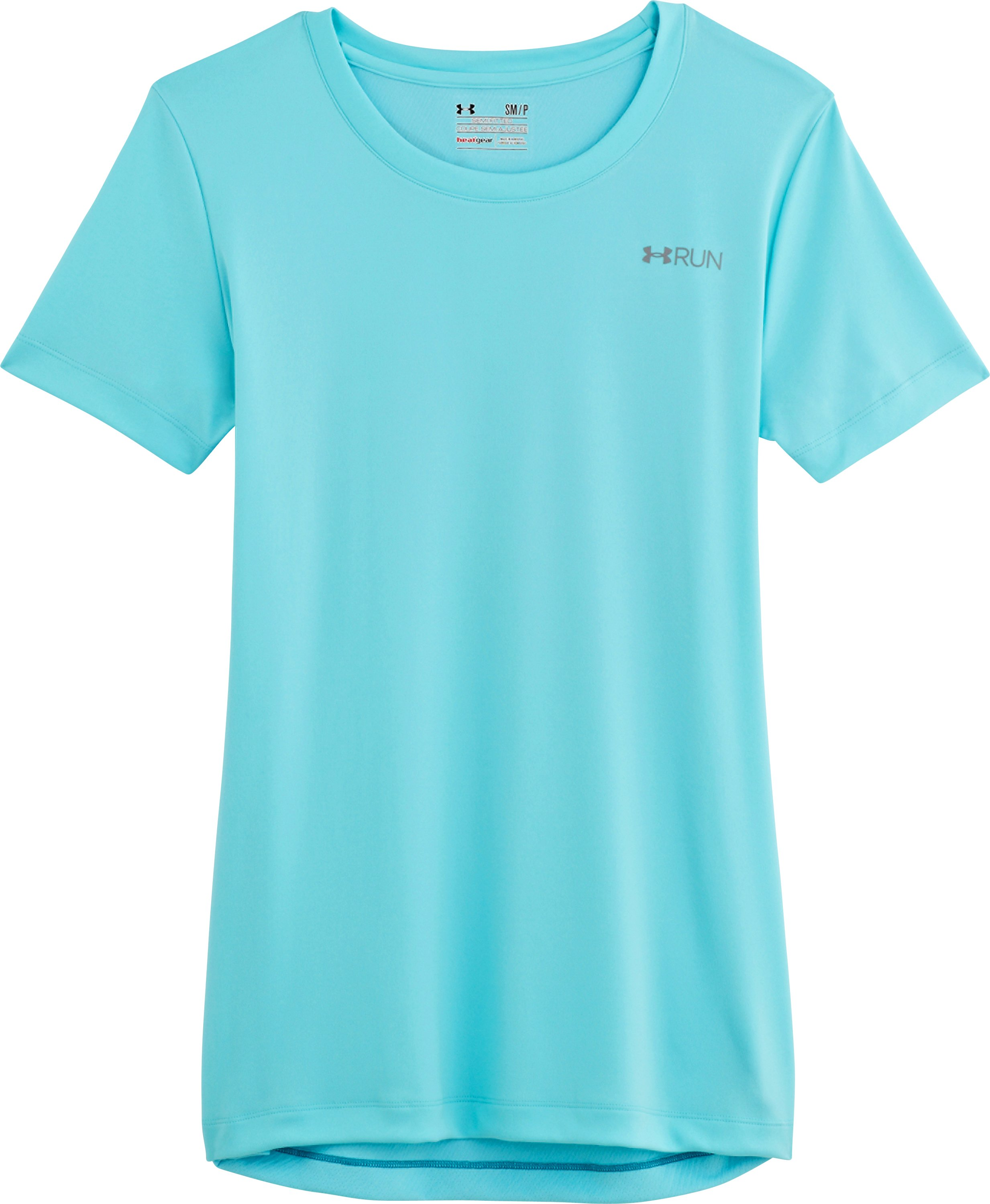 Women's UA Out Running Graphic T-Shirt, Tobago, Laydown