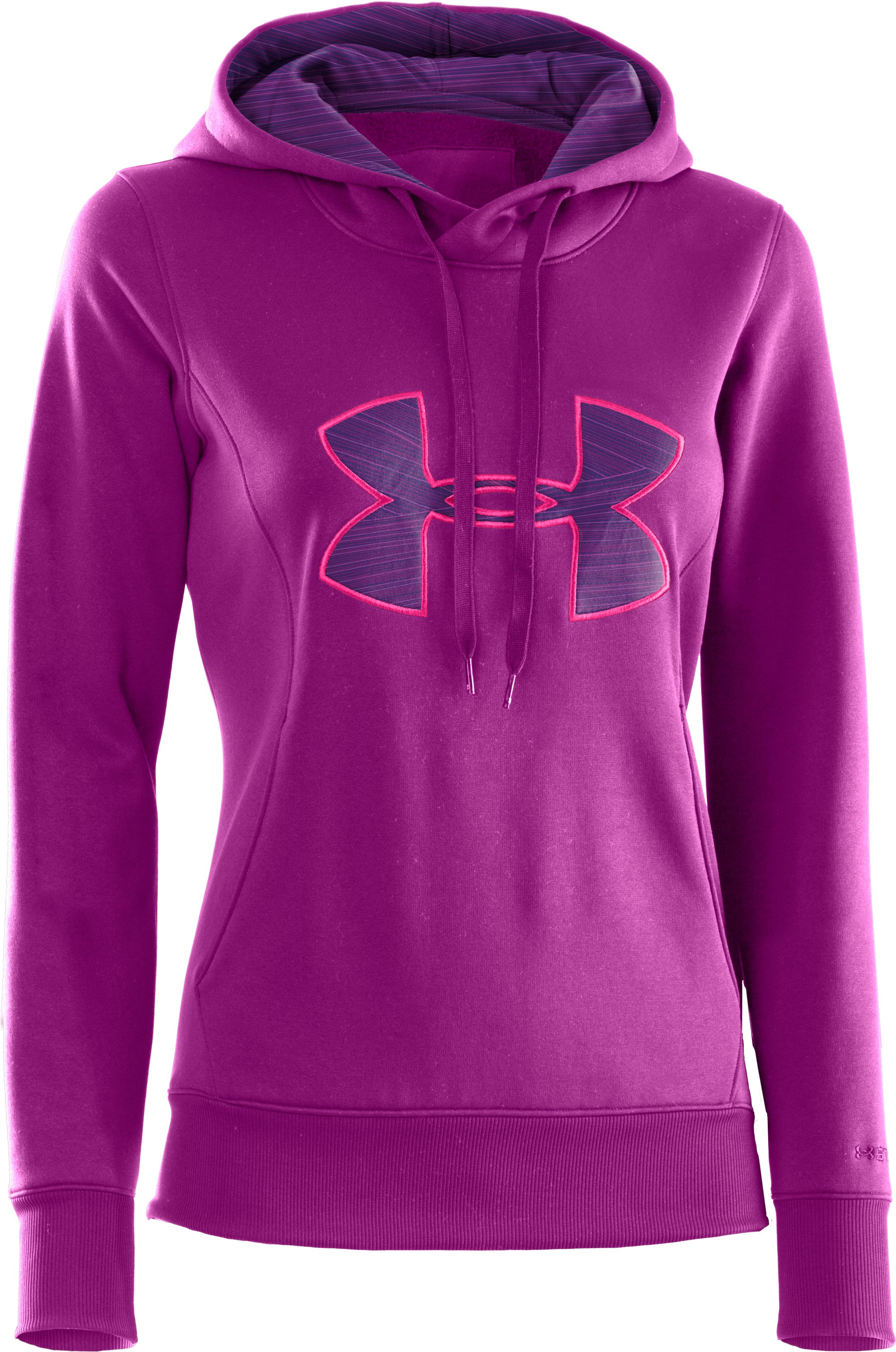 Women's Armour® Fleece Storm Big Logo Hoodie, STROBE