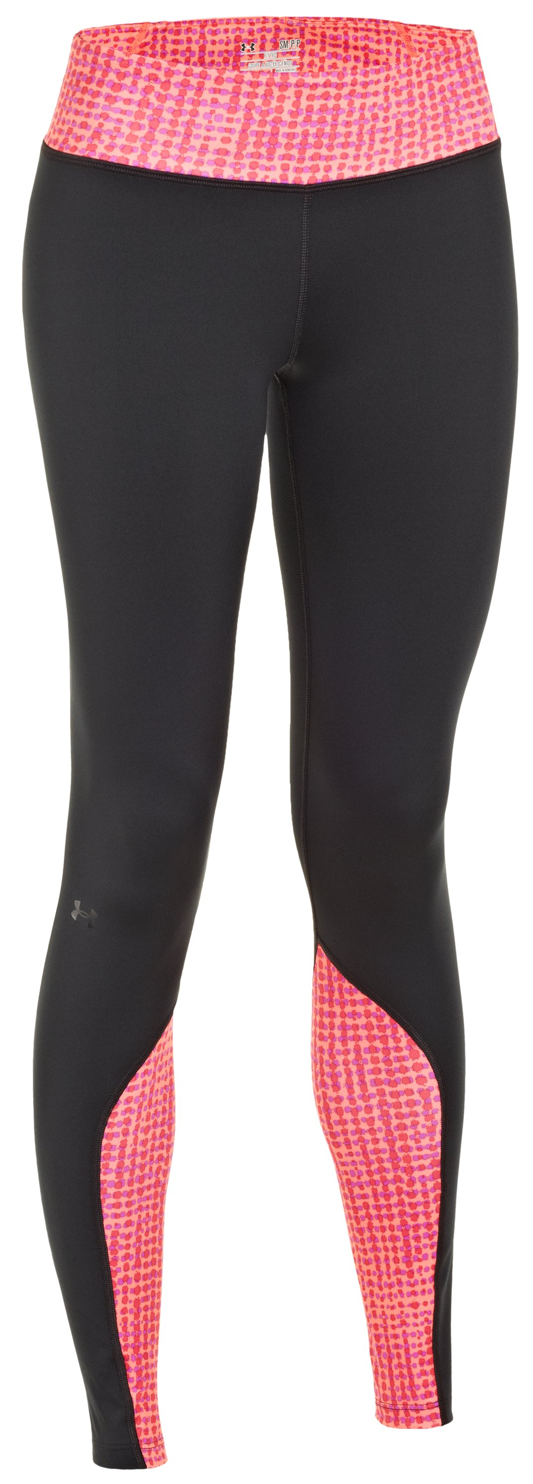 Women's UA Cozy Tight Printed, Black