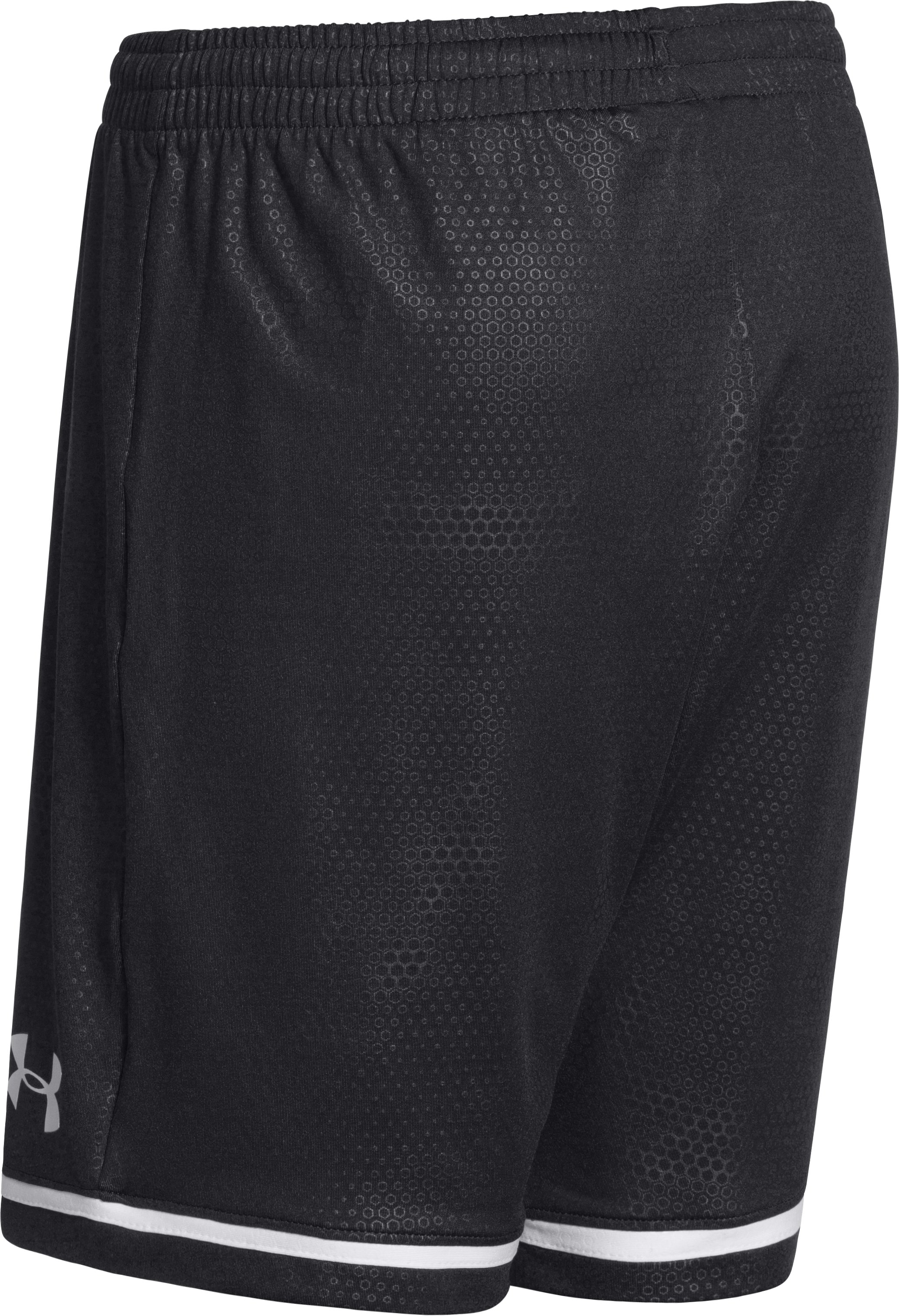 Boys' UA Highlight Soccer Shorts, Black ,