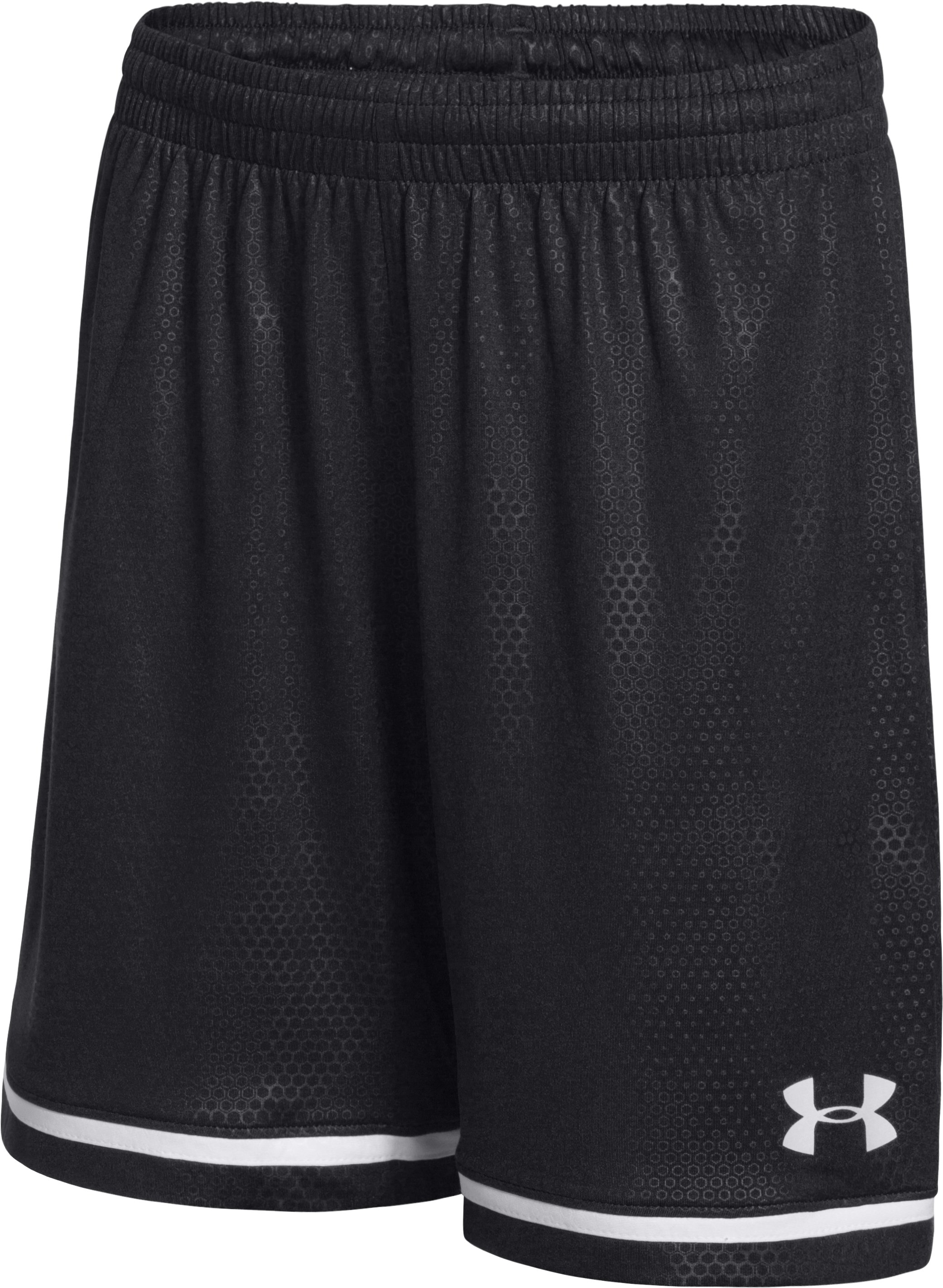 Boys' UA Highlight Soccer Shorts, Black
