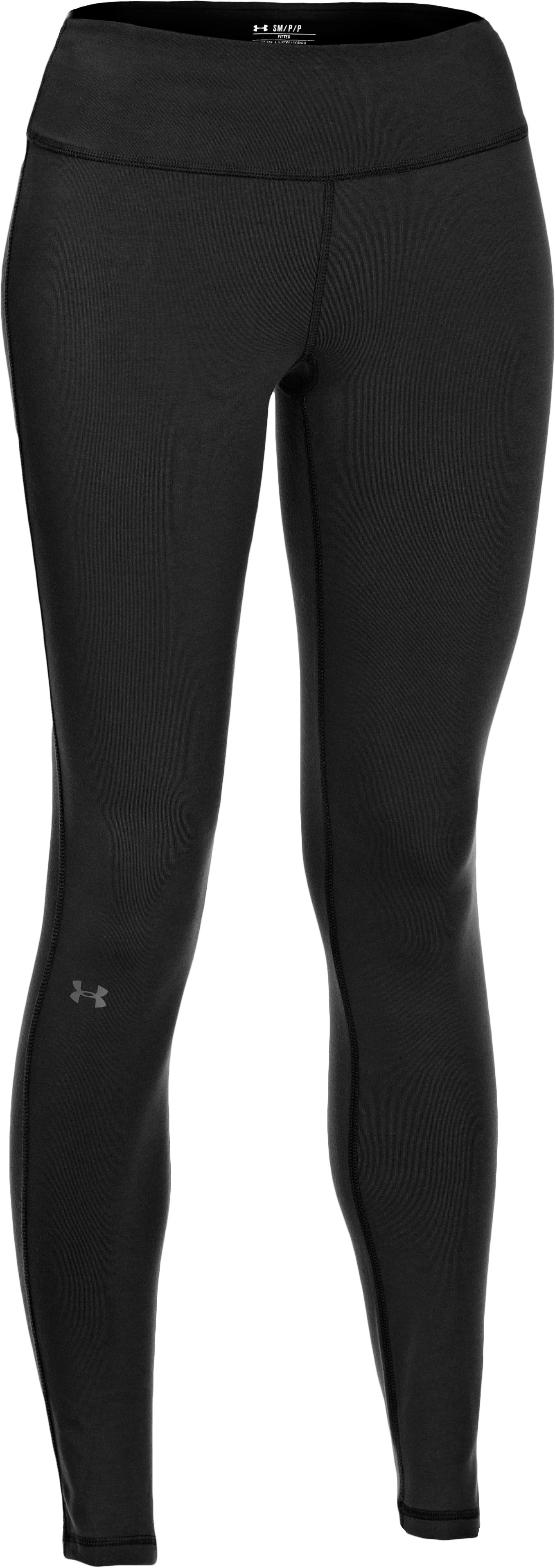 "Women's Charged Cotton® Ultimate 28"" Legging, Black , undefined"