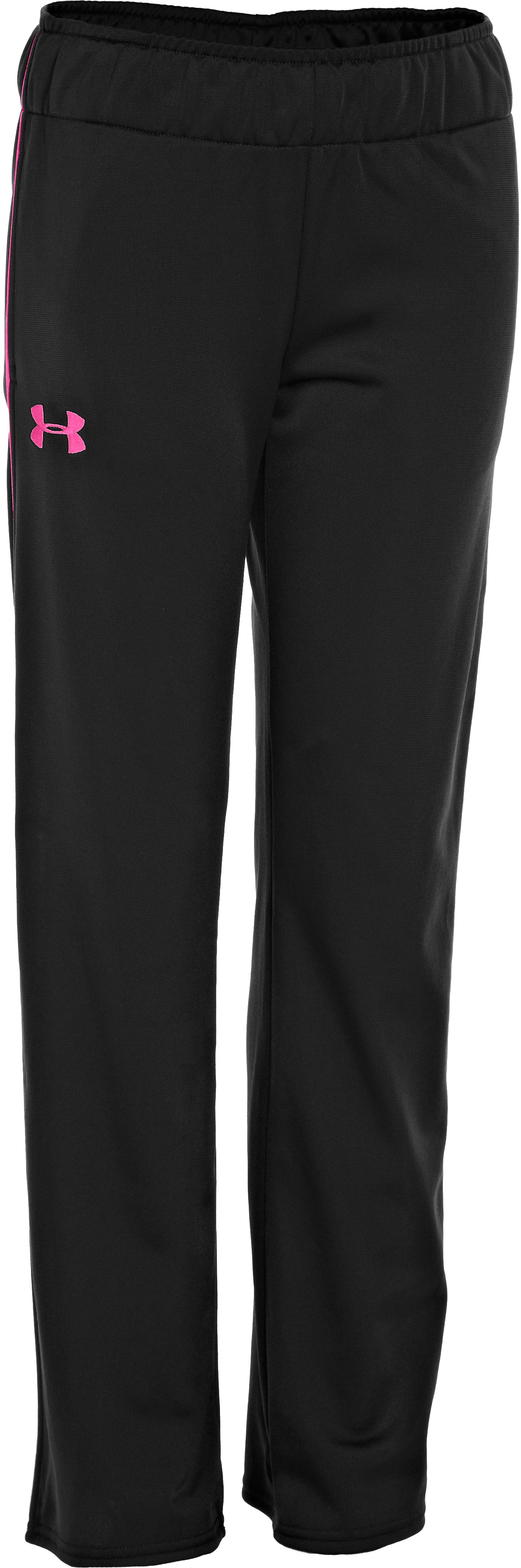 Girls' UA Pant, Black , undefined