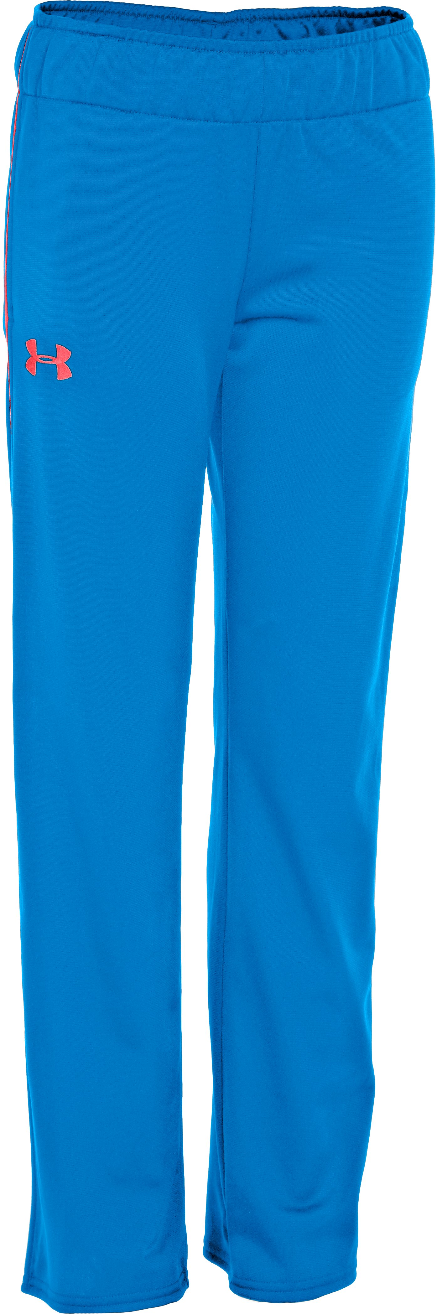 Girls' UA Icon Pant, ELECTRIC BLUE, zoomed image