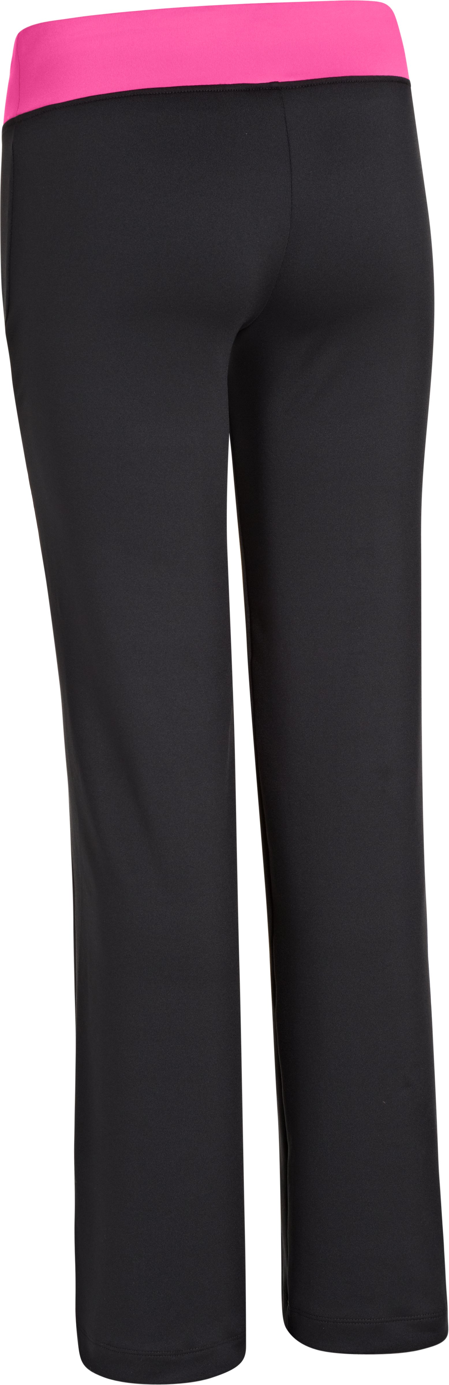 Girls' UA Victory Pant, Black , undefined