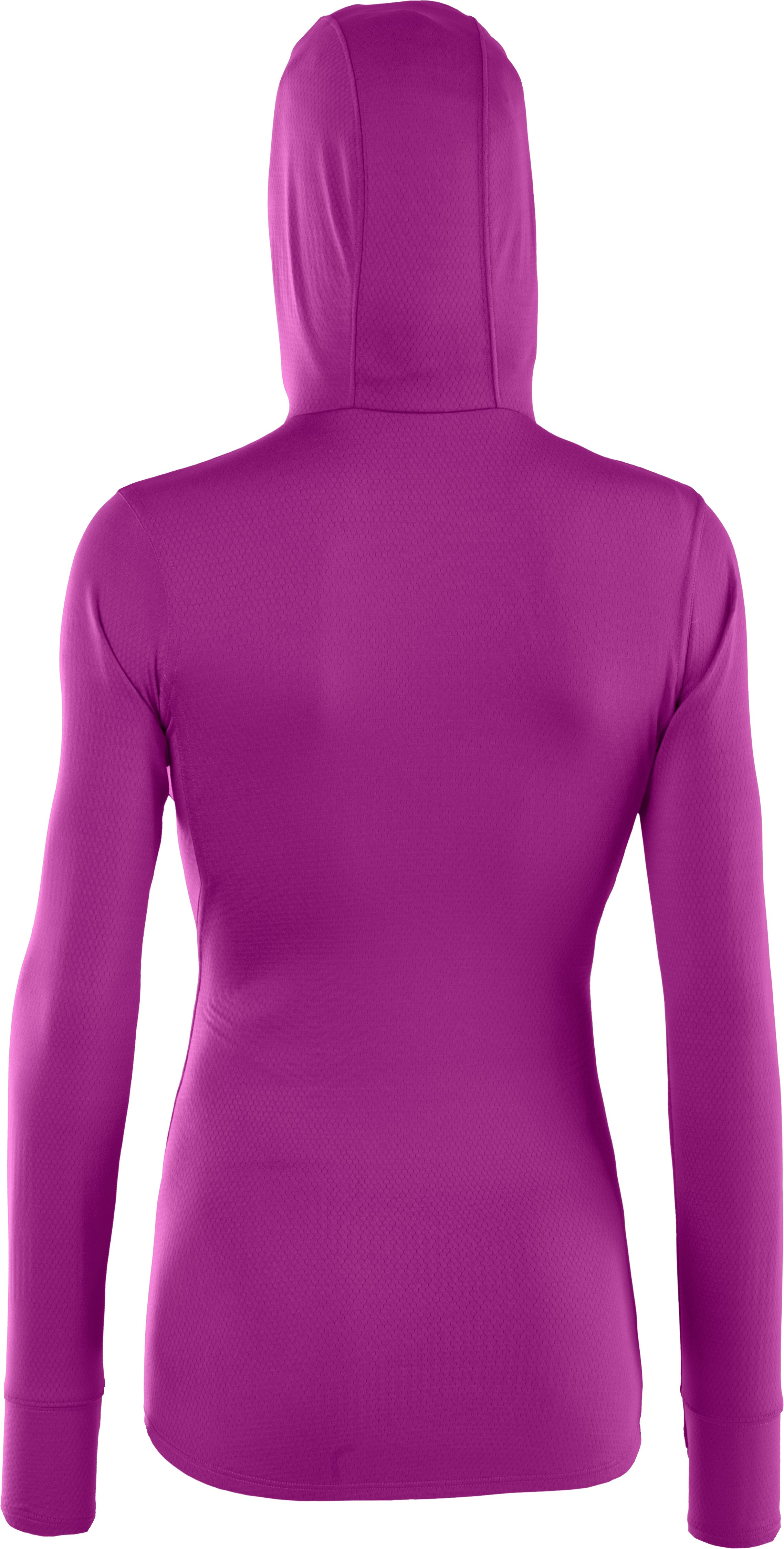 Women's ColdGear® Infrared Thermo Full Zip Hoodie, STROBE