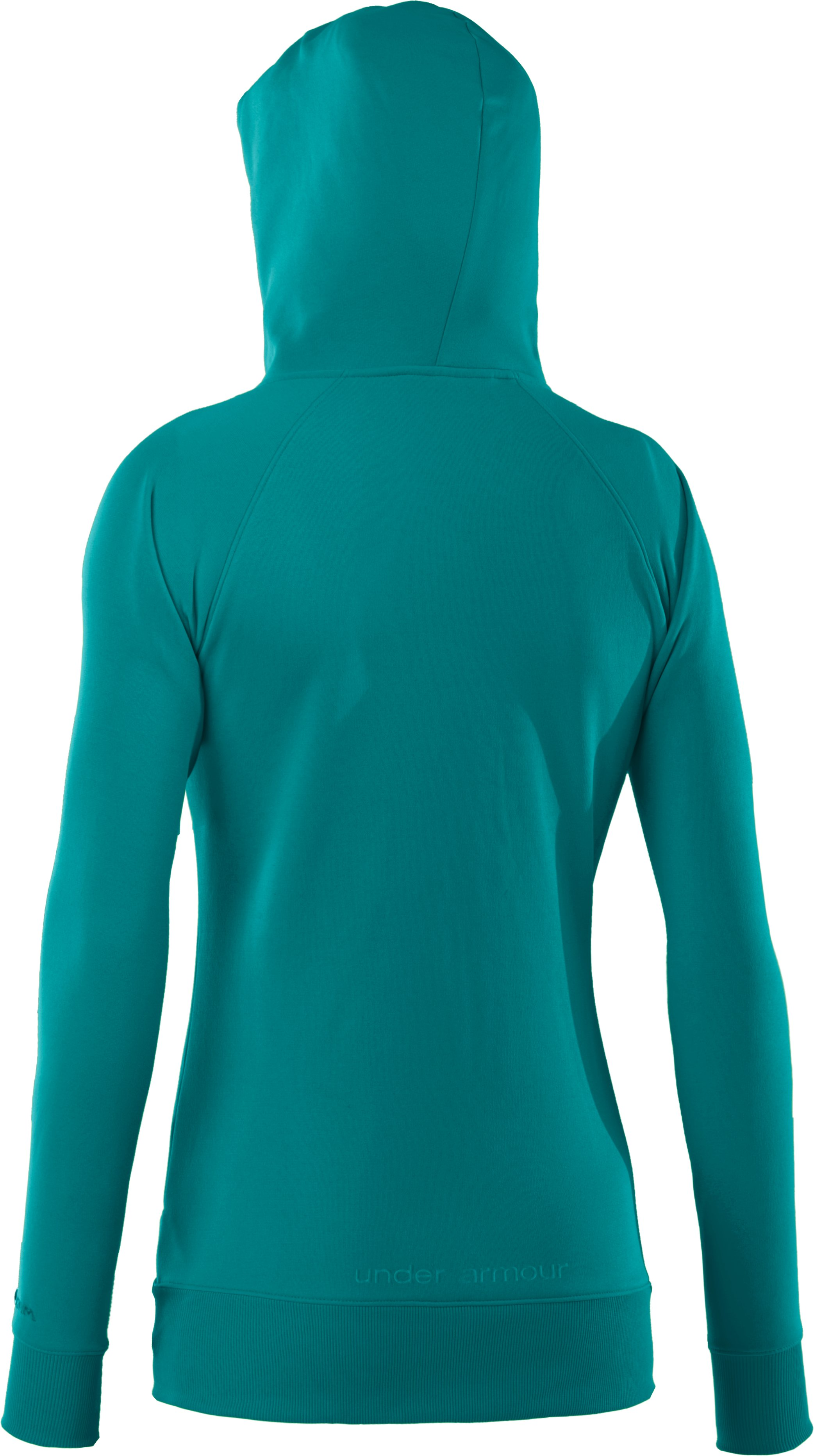 Women's Armour® Fleece Storm Full Zip Hoodie, CERULEAN