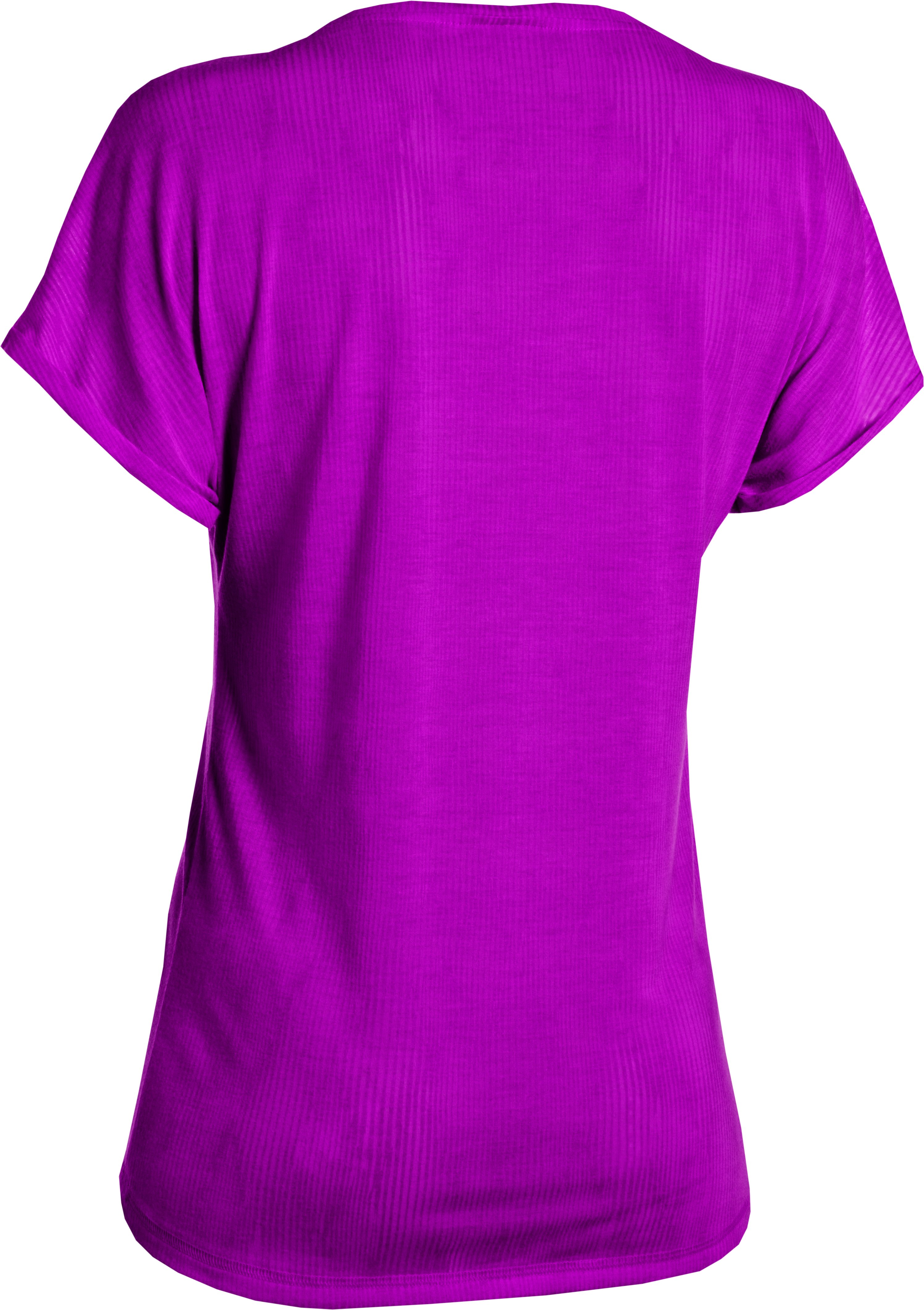 Women's UA Arena Burnout T-Shirt, STROBE
