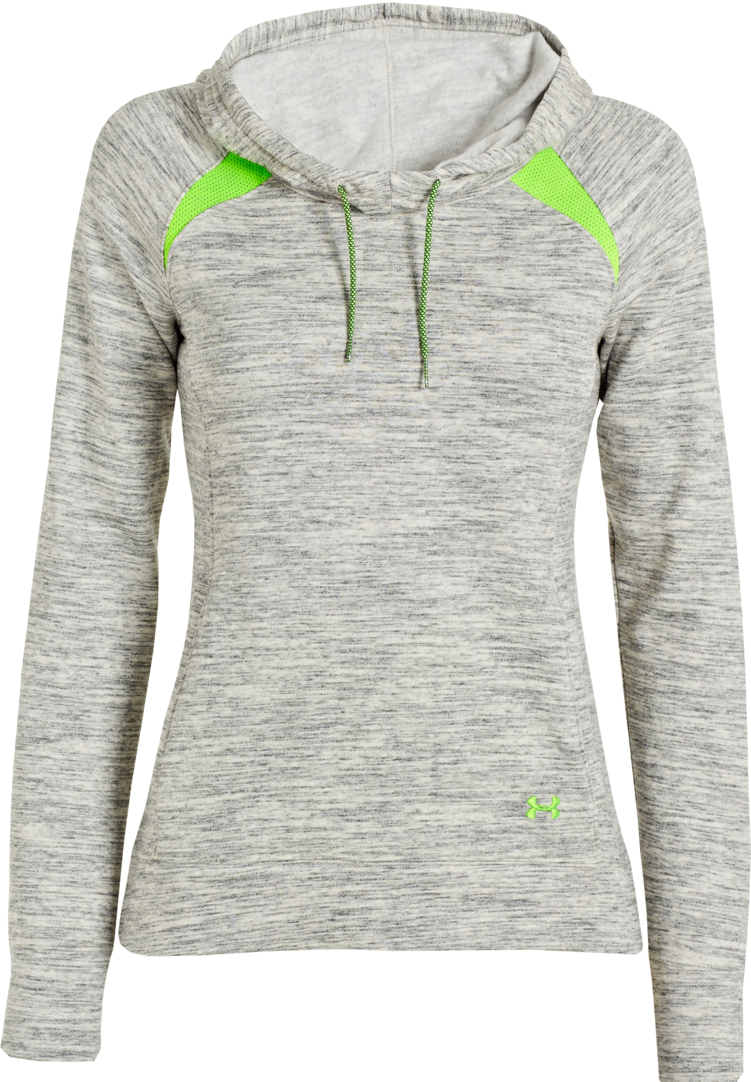 Women's Charged Cotton® Storm Marble Hoodie, TUSK