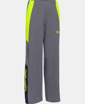 Boys' UA Hero Warm-Up Pants  1 Color $17.99