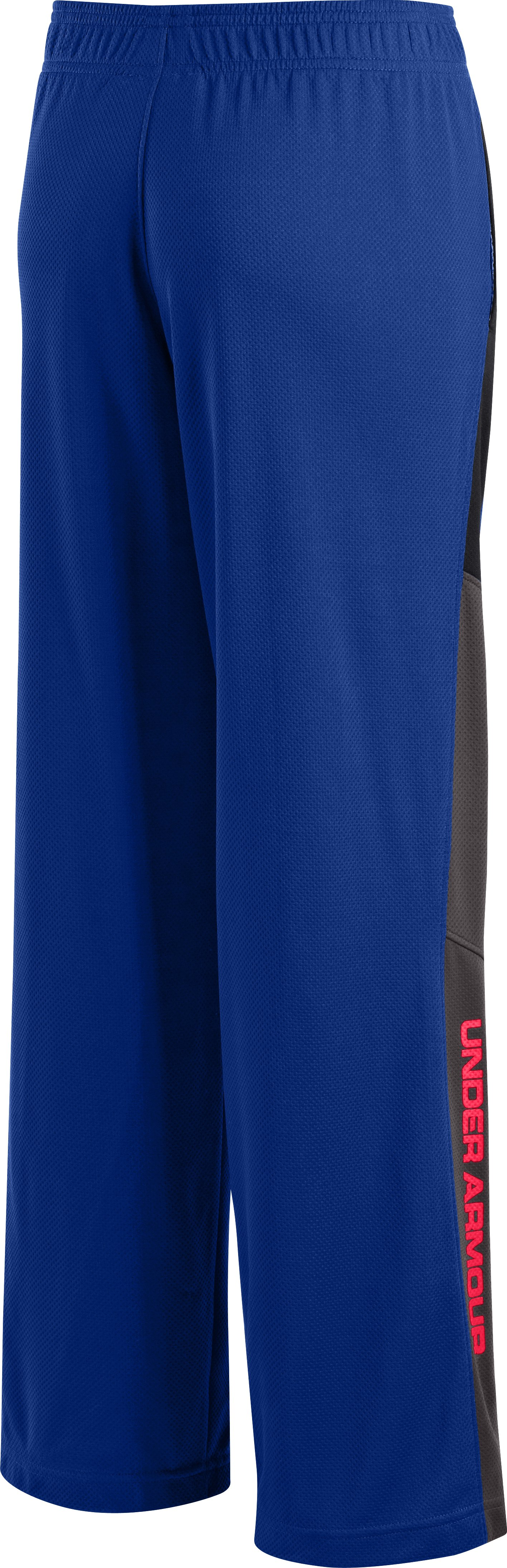 Boys' UA Hero Warm-Up Pants, Royal, undefined